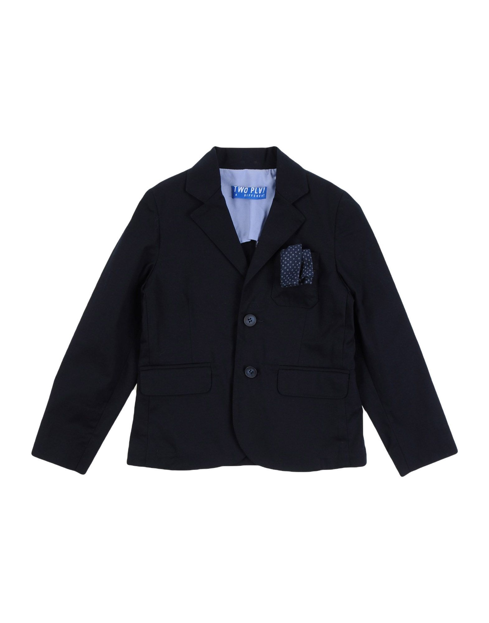 SUITS AND JACKETS Two Play Dark blue Boy Cotton