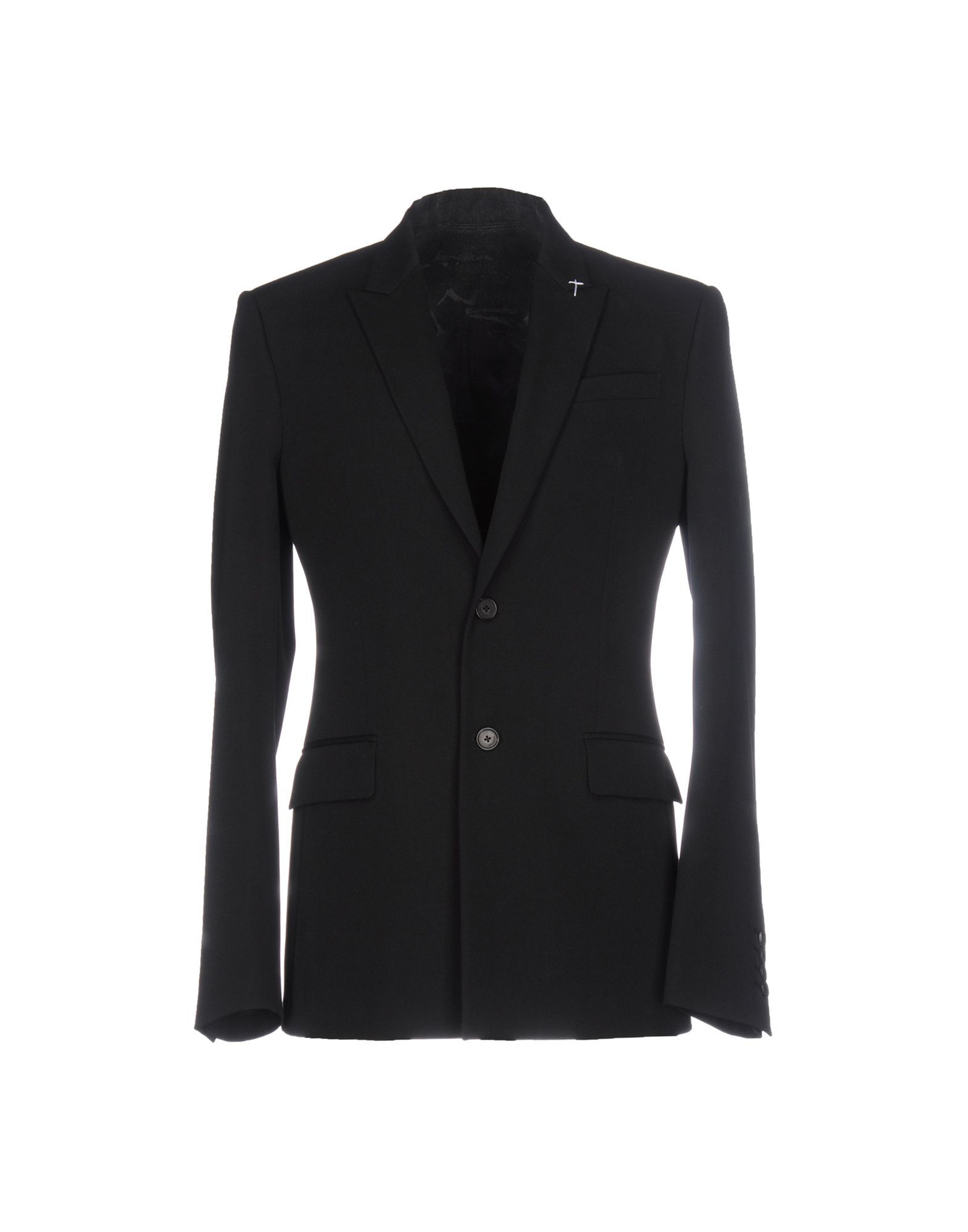 Givenchy Black Wool Single Breasted Jacket