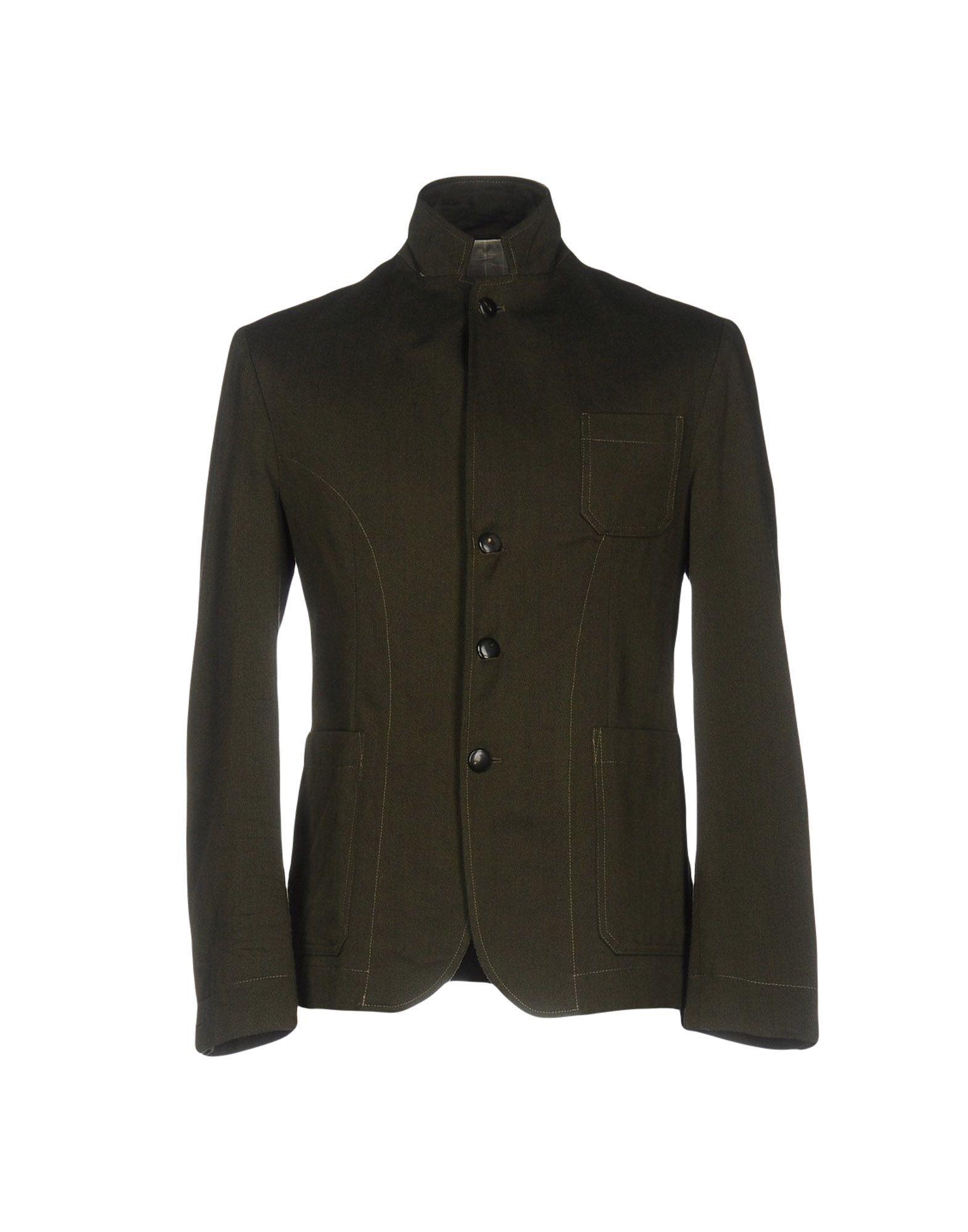 Gerard Dark Green Wool Jacket