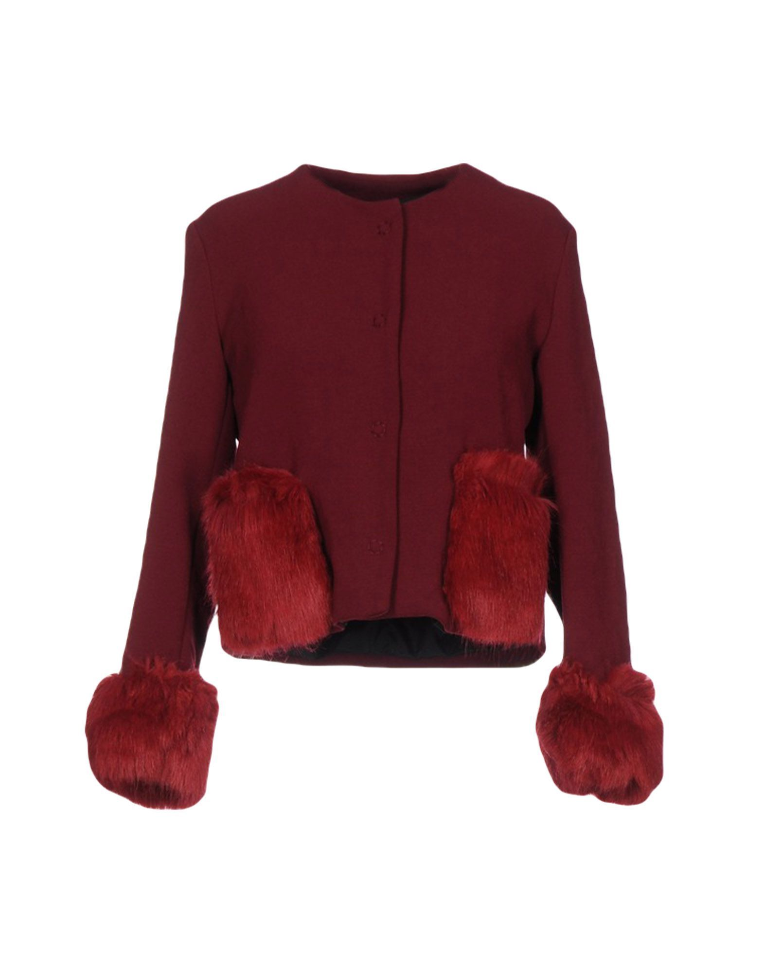 Suits And Jackets Ainea Maroon Women's Wool