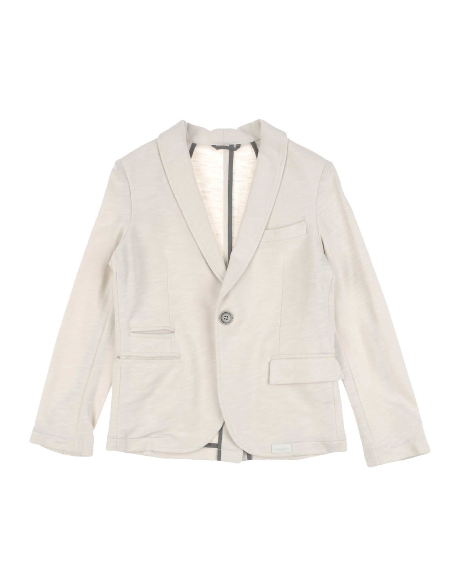 SUITS AND JACKETS Paolo Pecora Ivory Boy Cotton