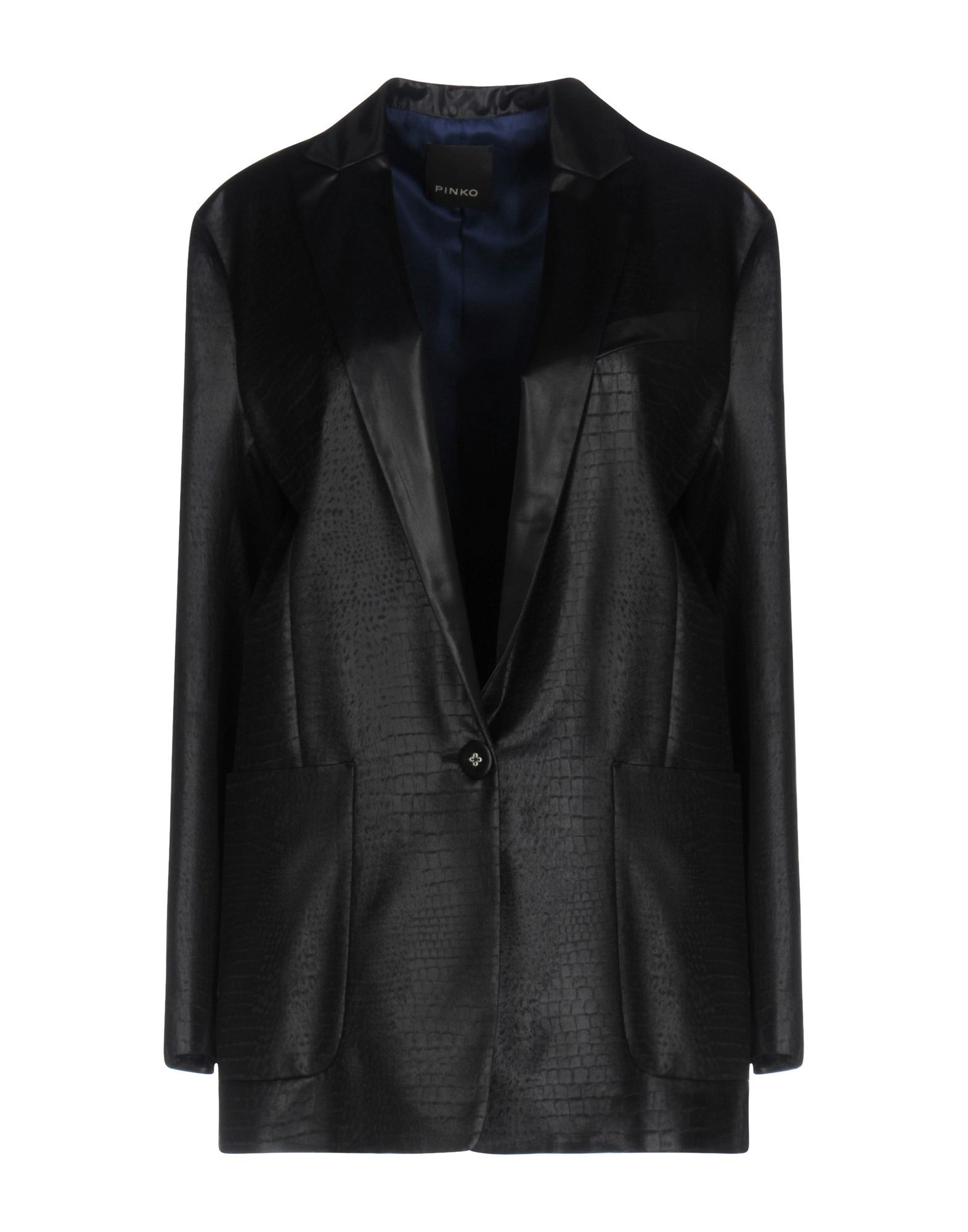 Pinko Black Single Breasted Blazer