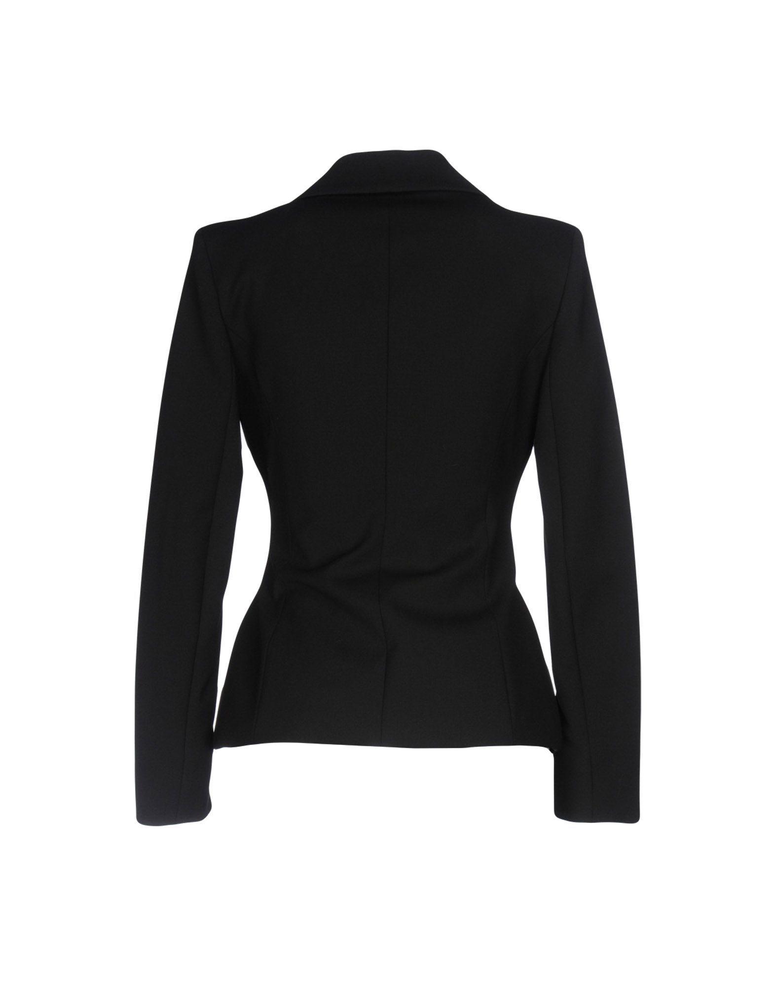 Patrizia Pepe Black Single Breasted Jacket
