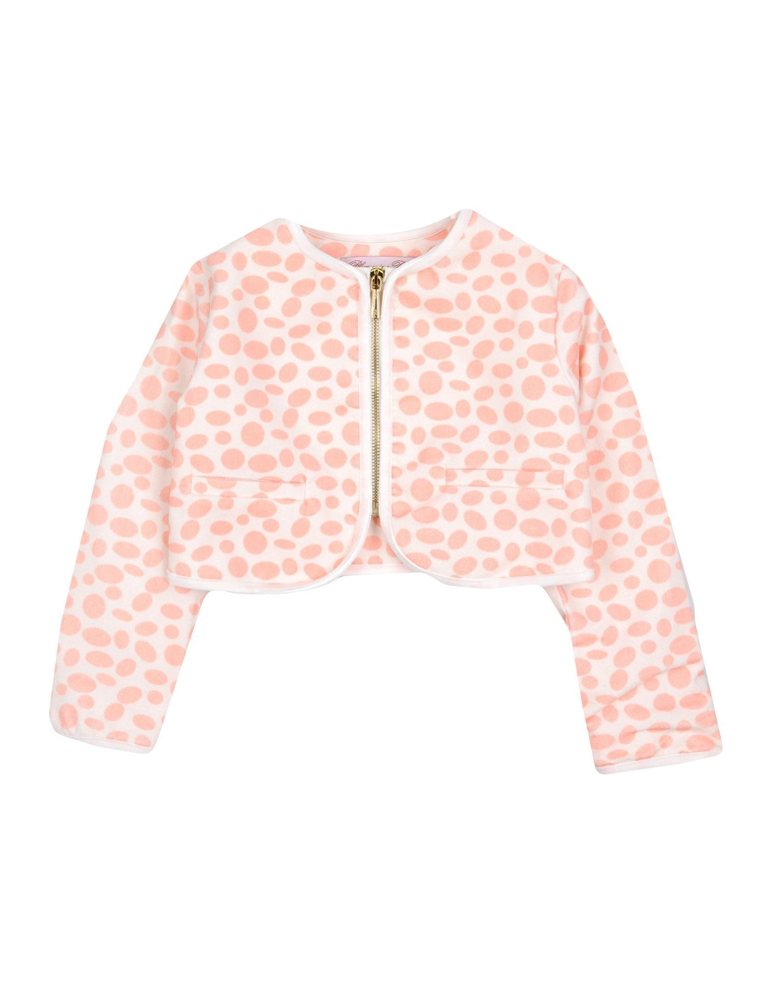 SUITS AND JACKETS Miss Blumarine Ivory Girl Cotton