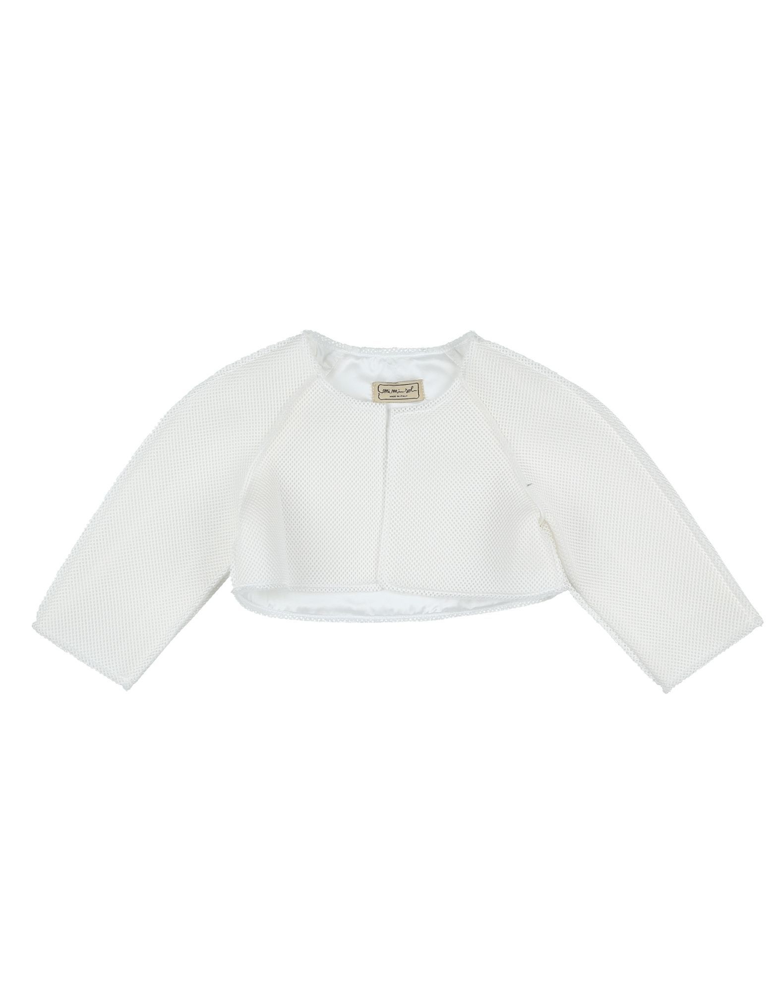 SUITS AND JACKETS Girl Mimisol White Polyester