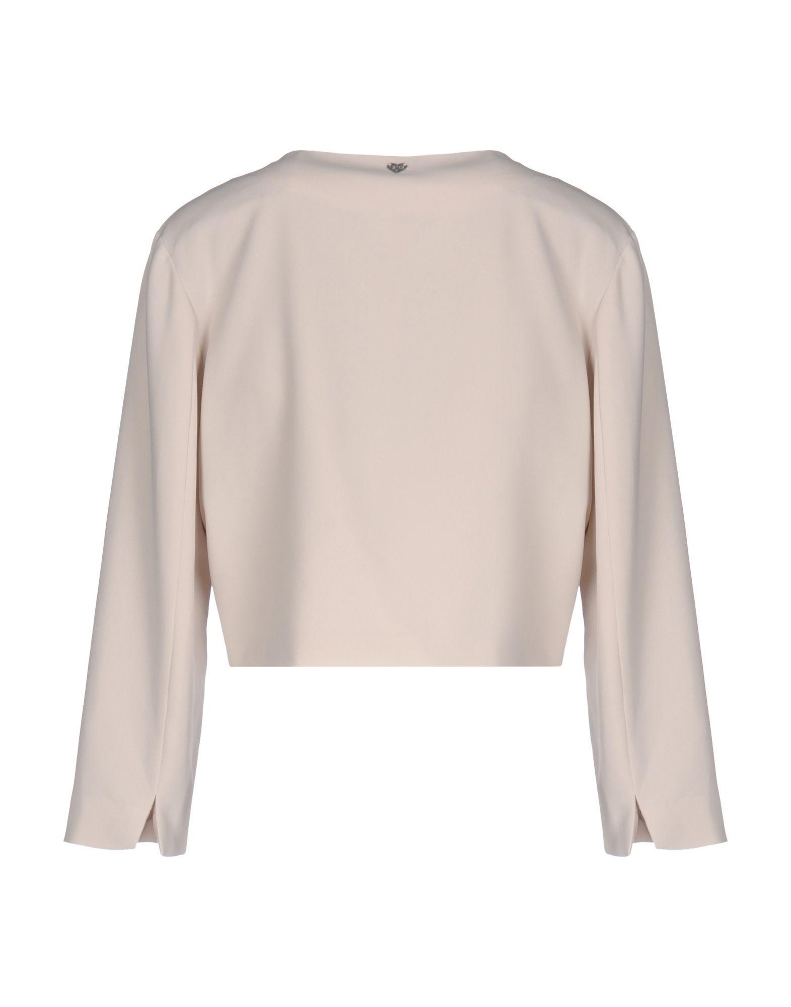 Blugirl Blumarine Beige Crepe Jacket