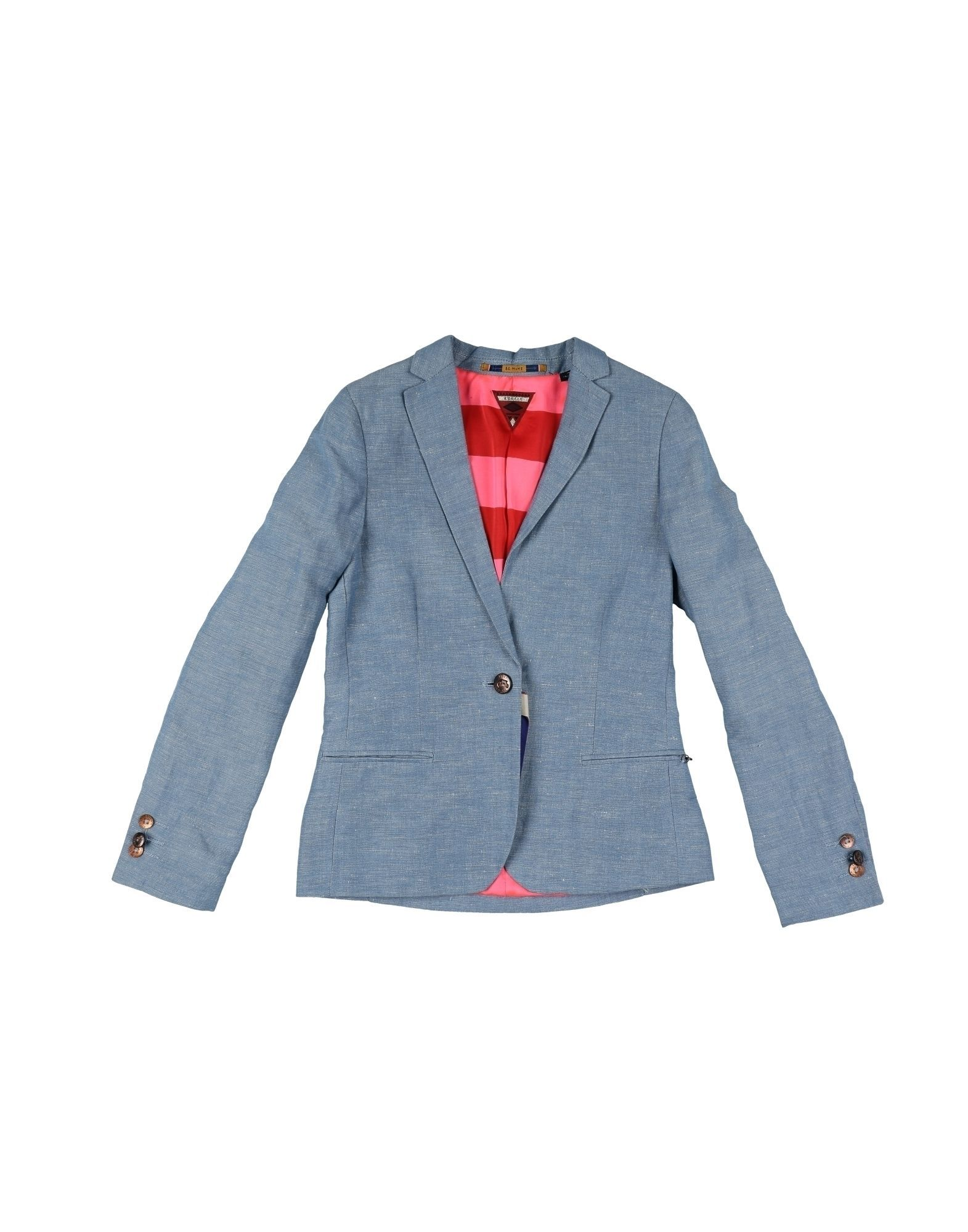 SUITS AND JACKETS Scotch R'Belle Blue Girl Linen