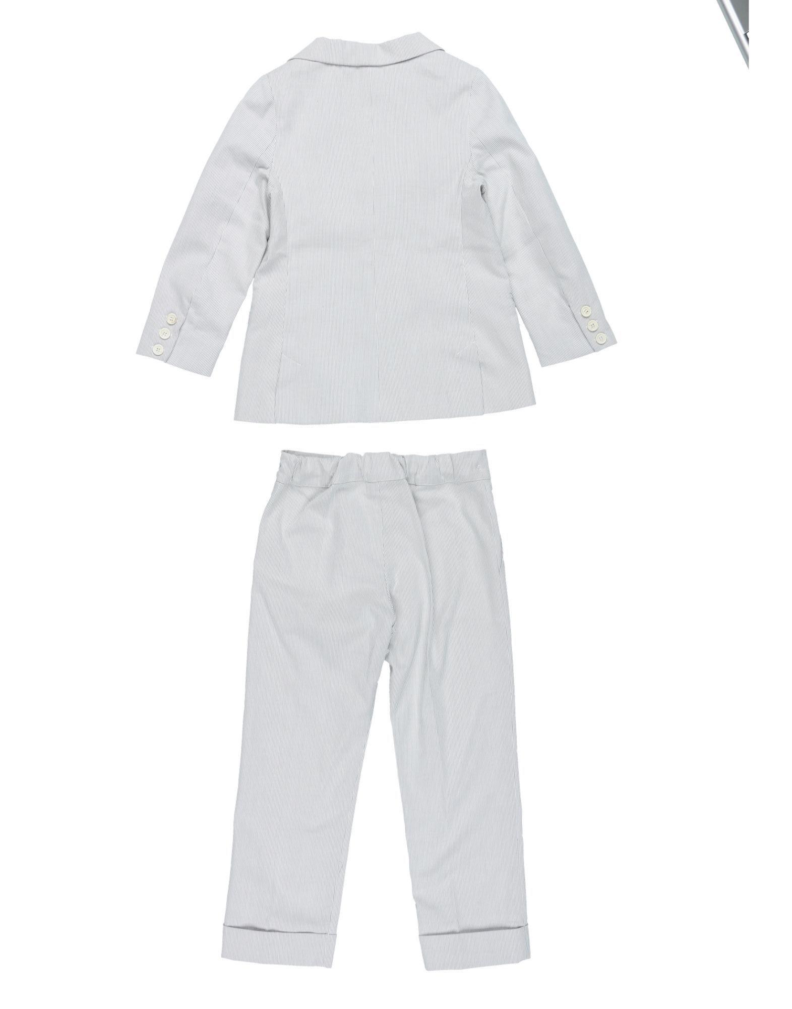 SUITS AND JACKETS La Stupenderia Light grey Boy Cotton