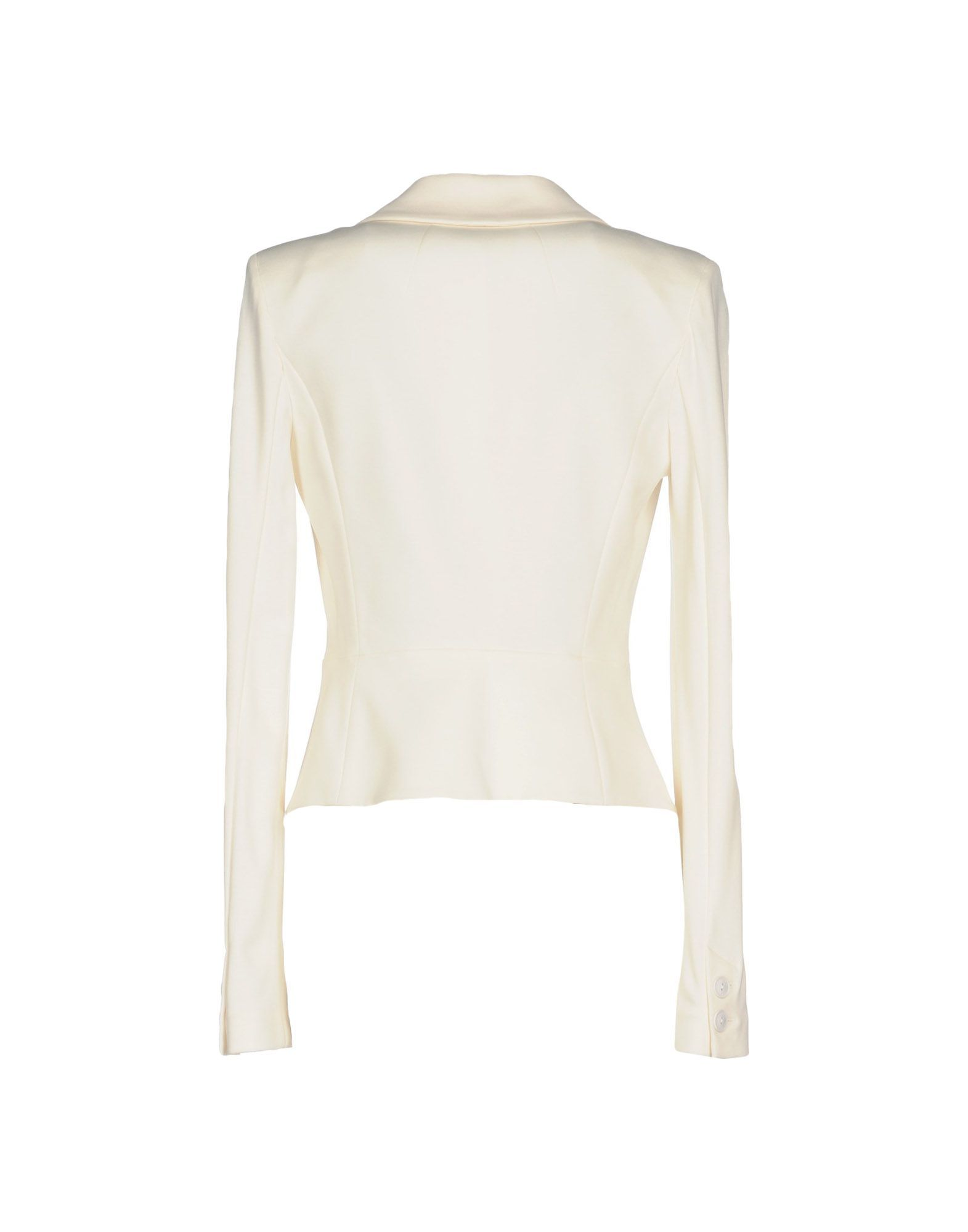 Patrizia Pepe Ivory Single Breasted Blazer
