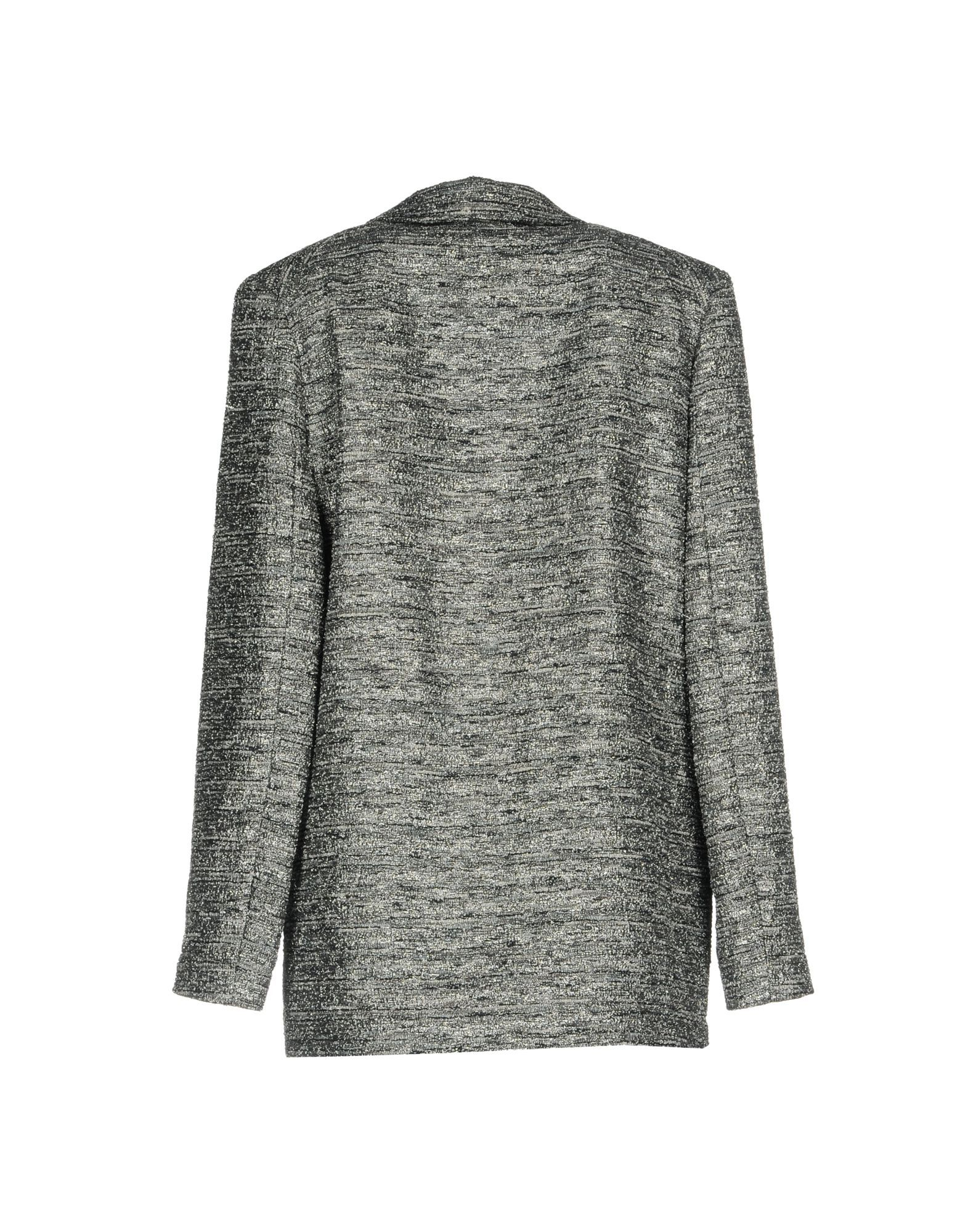 Marc By Marc Jacobs Lead Cotton Lame Single Breasted Jacket