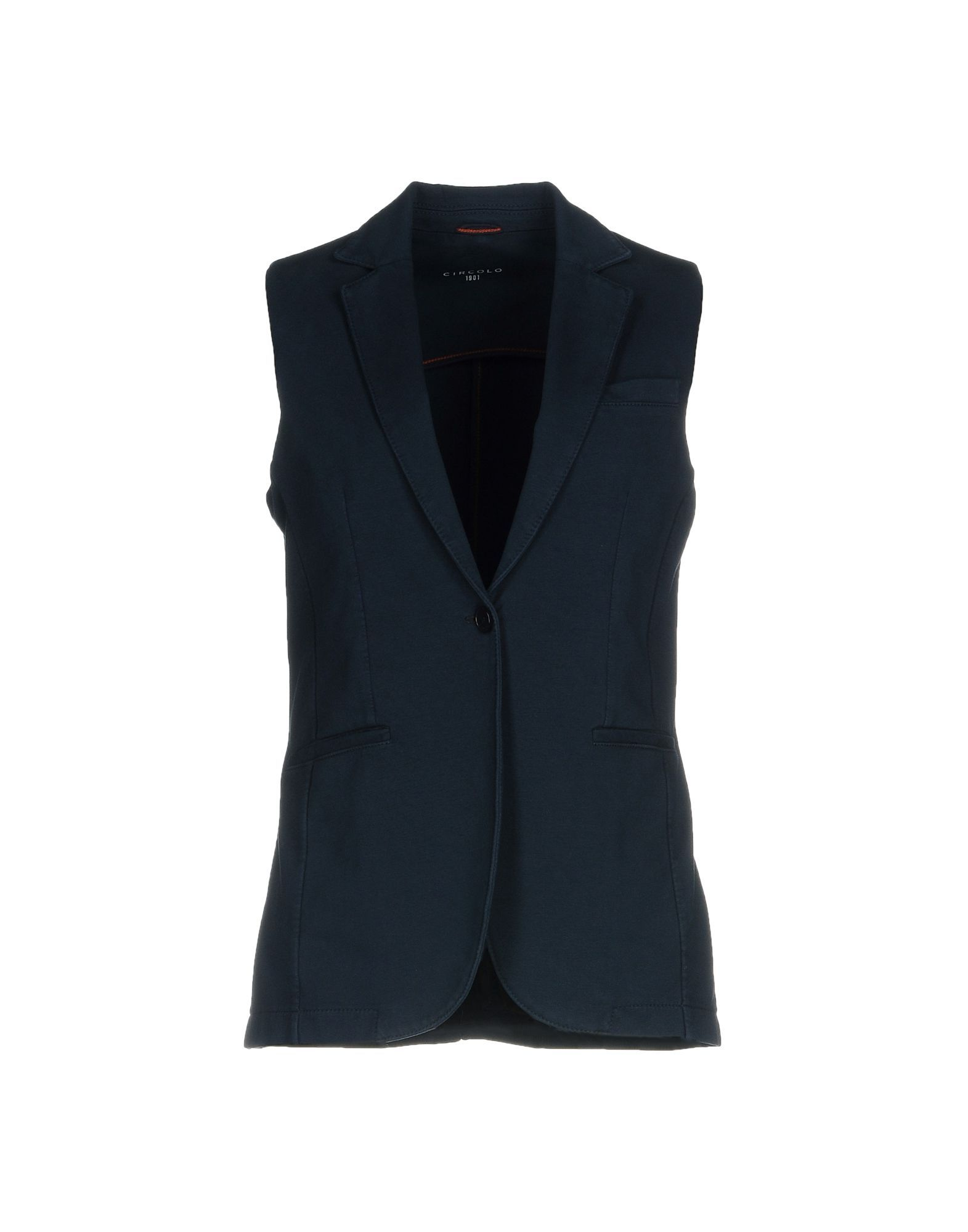 Suits And Jackets Circolo 1901 Dark Blue Women's Cotton