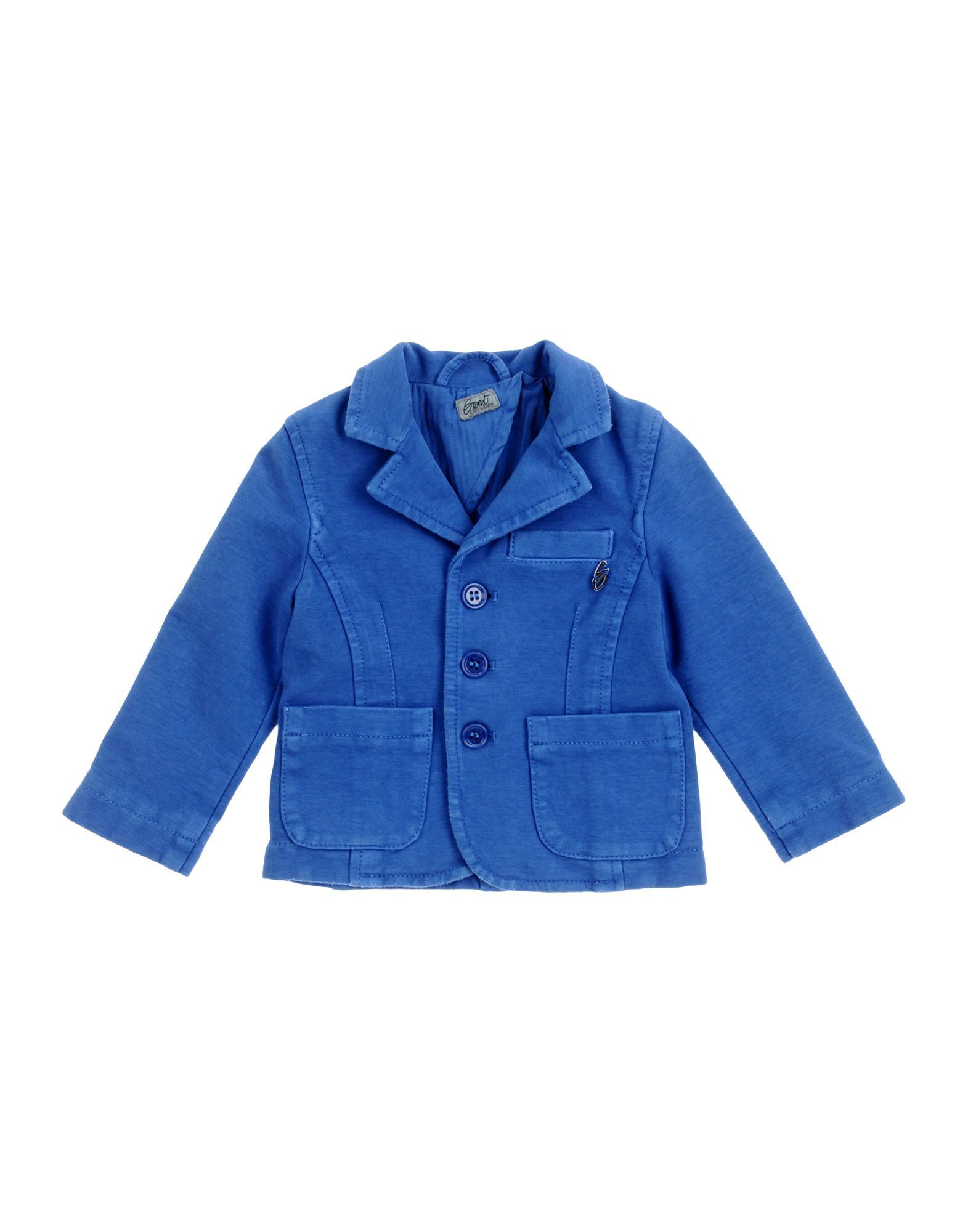 SUITS AND JACKETS Grant Gar�on Baby Blue Boy Cotton
