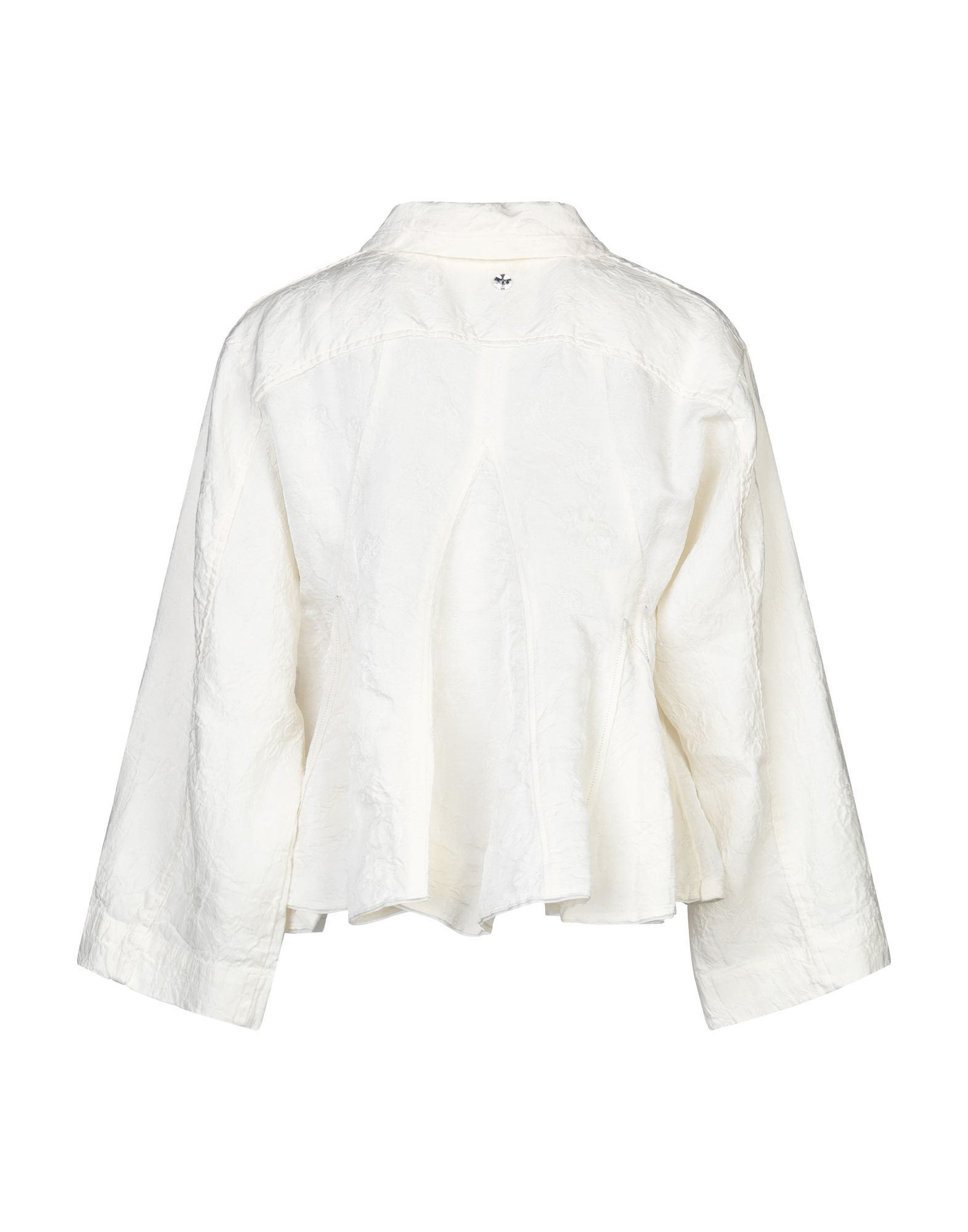 Suits And Jackets High By Claire Campbell Ivory Women's Linen