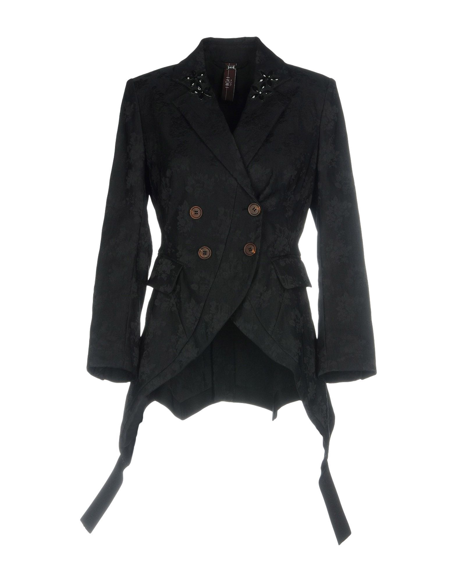 Suits And Jackets High By Claire Campbell Black Women's Polyester
