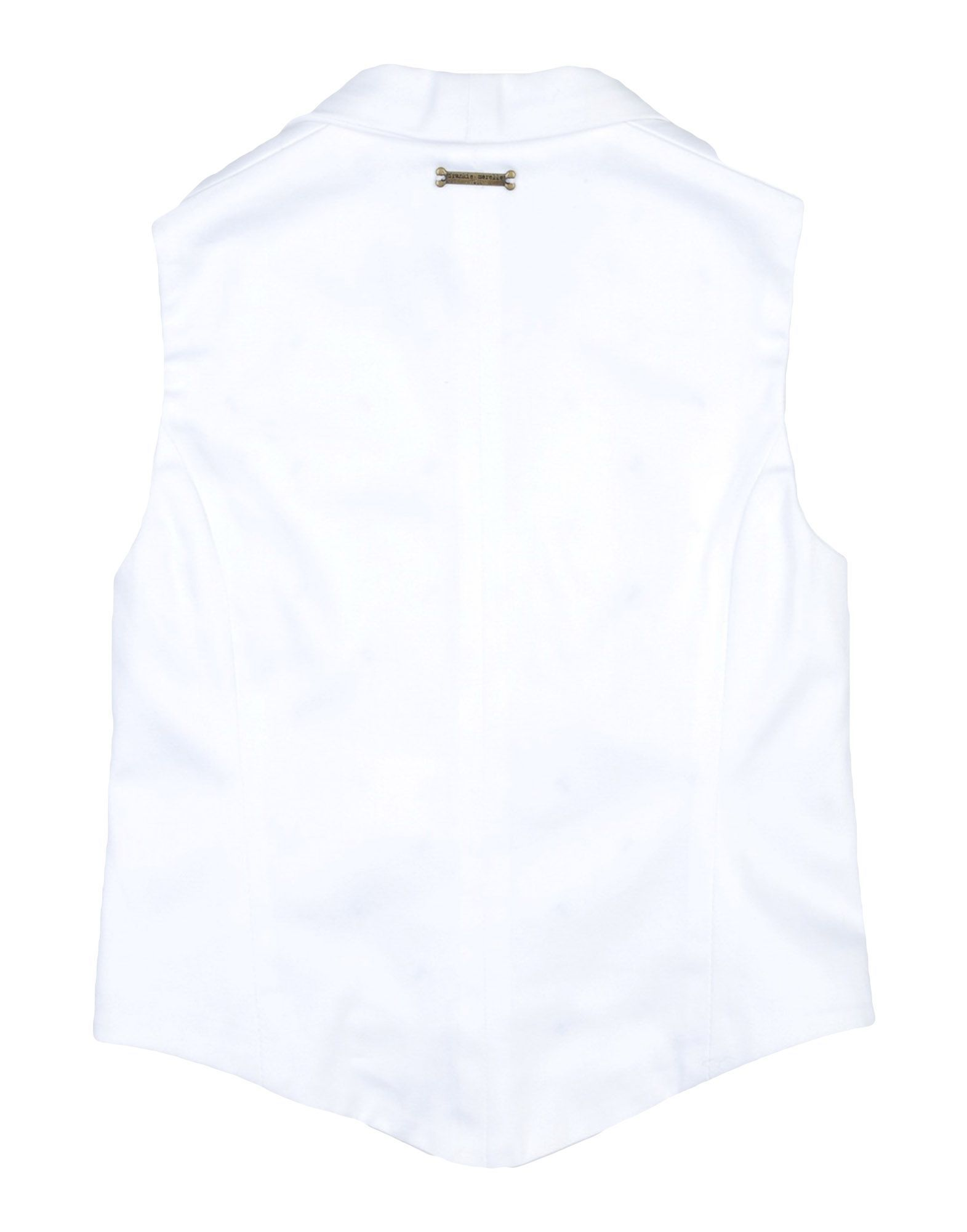 SUITS AND JACKETS Frankie Morello White Boy Cotton