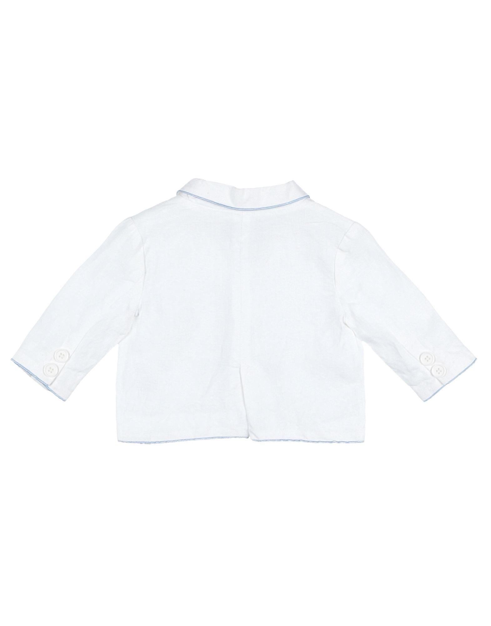 SUITS AND JACKETS Simonetta Tiny White Boy Linen