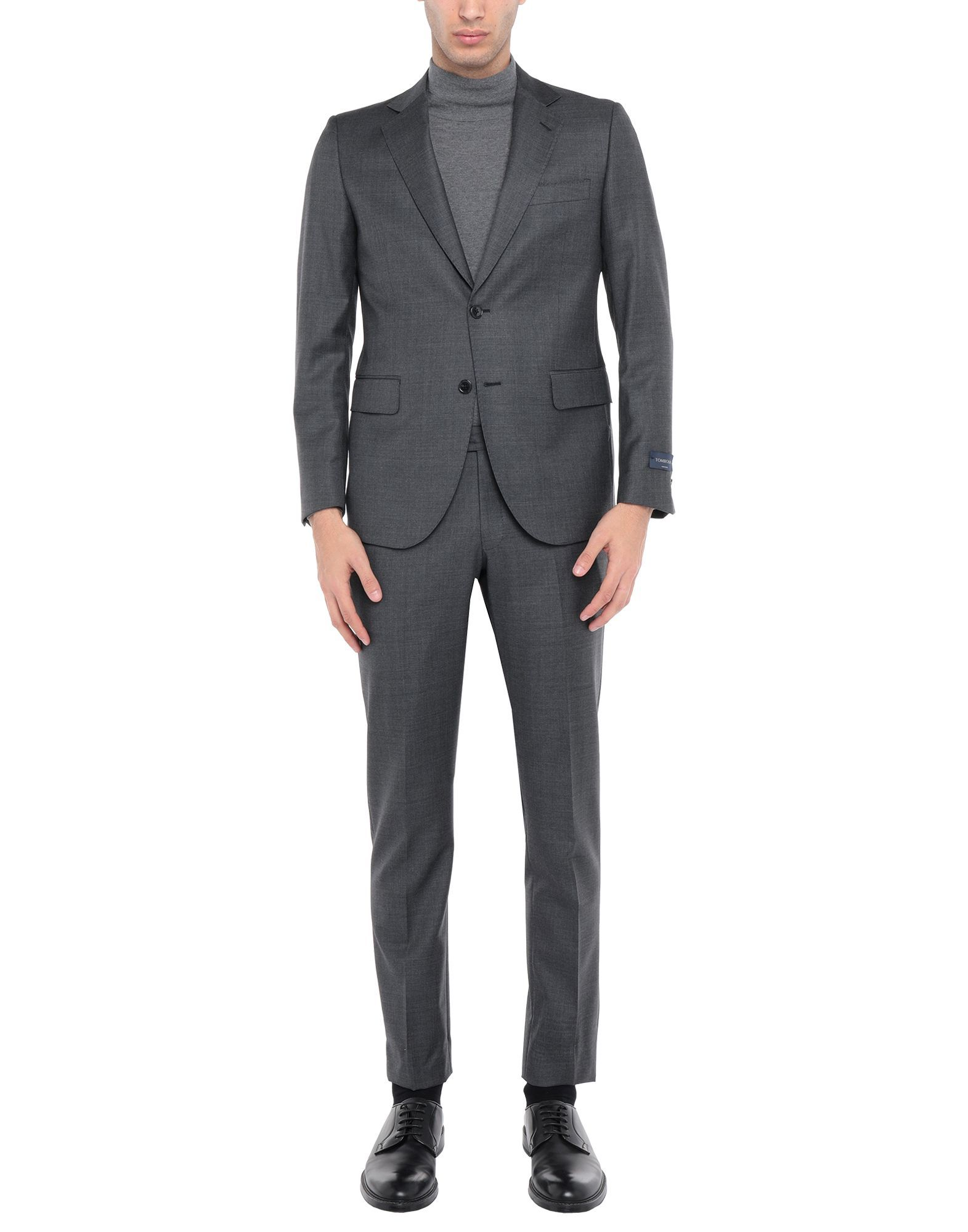 Tombolini Lead Virgin Wool Single Breasted Suit