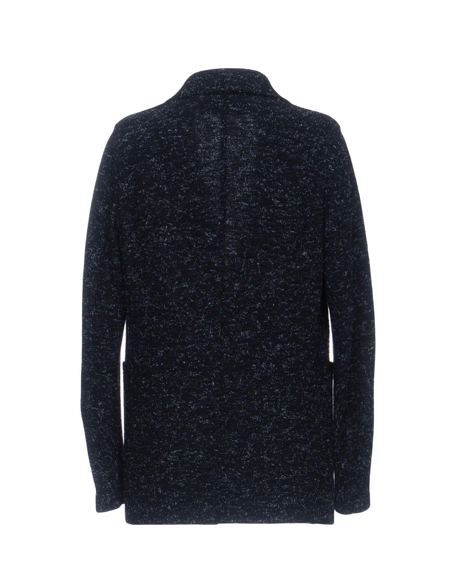 Harris Wharf London Black Virgin Wool Double Breasted Jacket