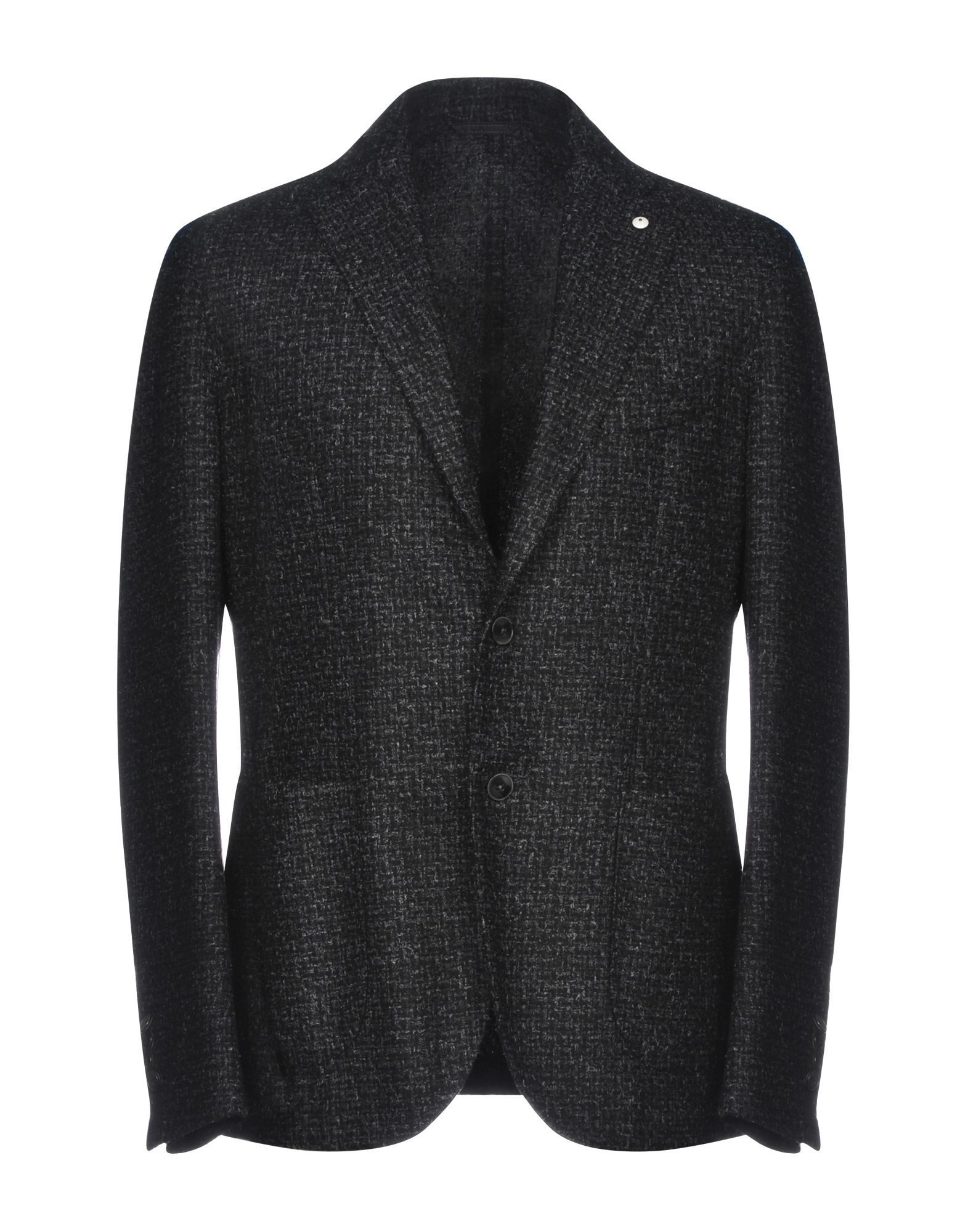 SUITS AND JACKETS L.B.M. 1911 Steel grey Man Wool