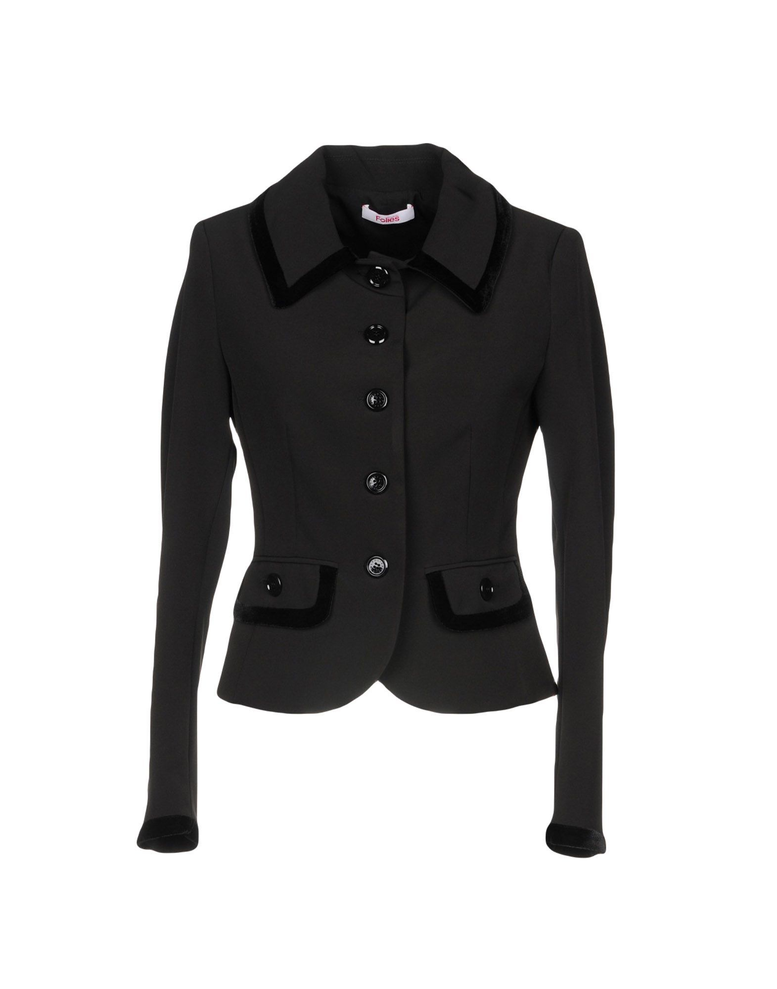 SUITS AND JACKETS Blugirl Blumarine Black Woman Polyester