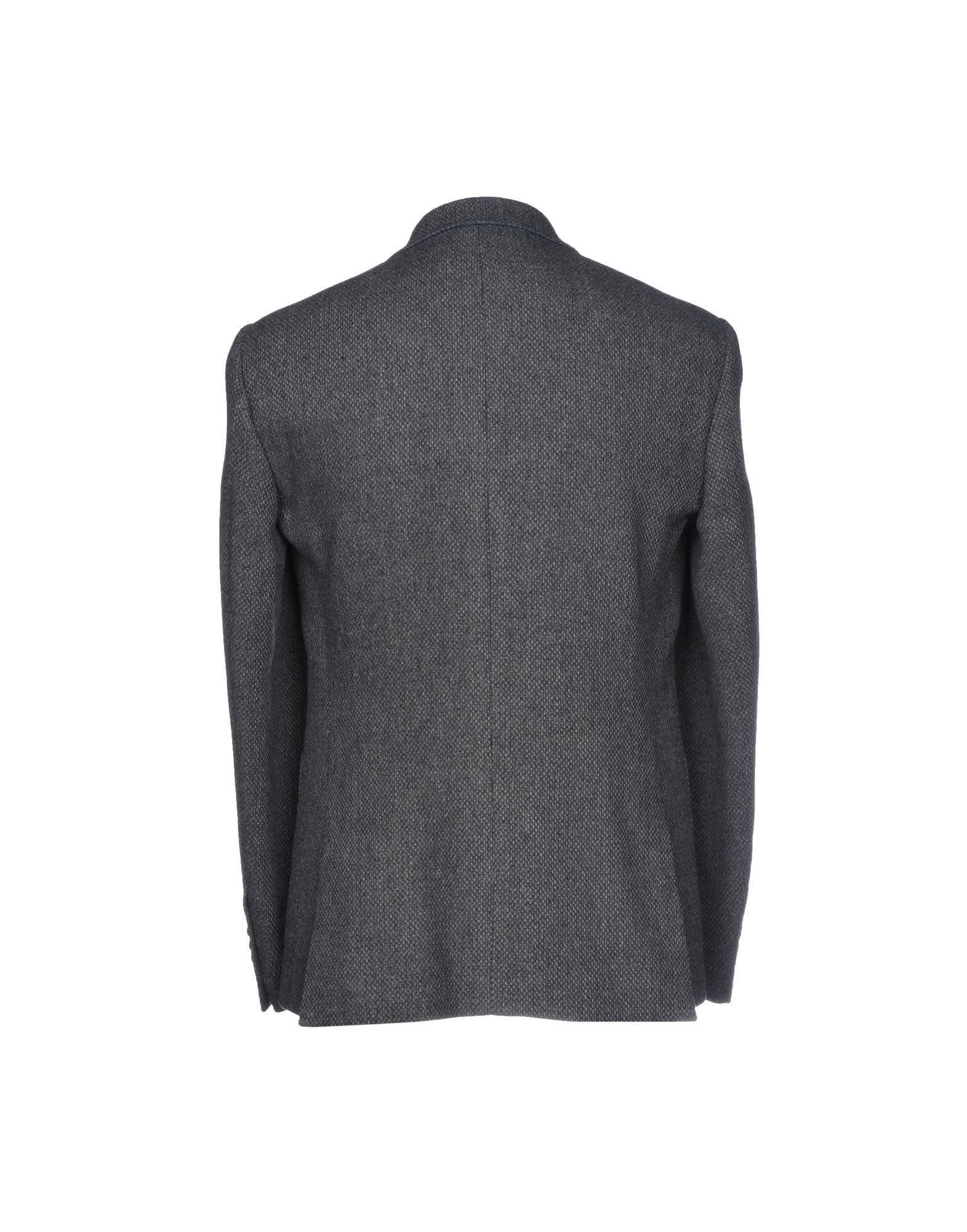 Harry & Sons Lead Virgin Wool Single Breasted Jacket
