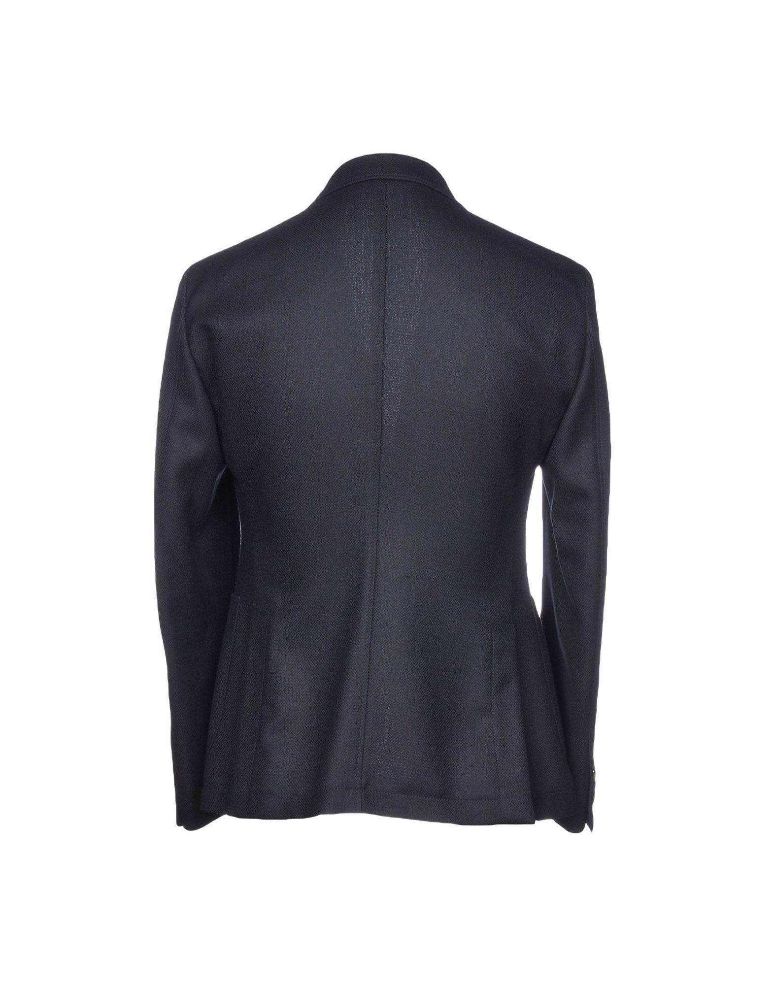 Ungaro Dark Blue Virgin Wool Single Breasted Blazer