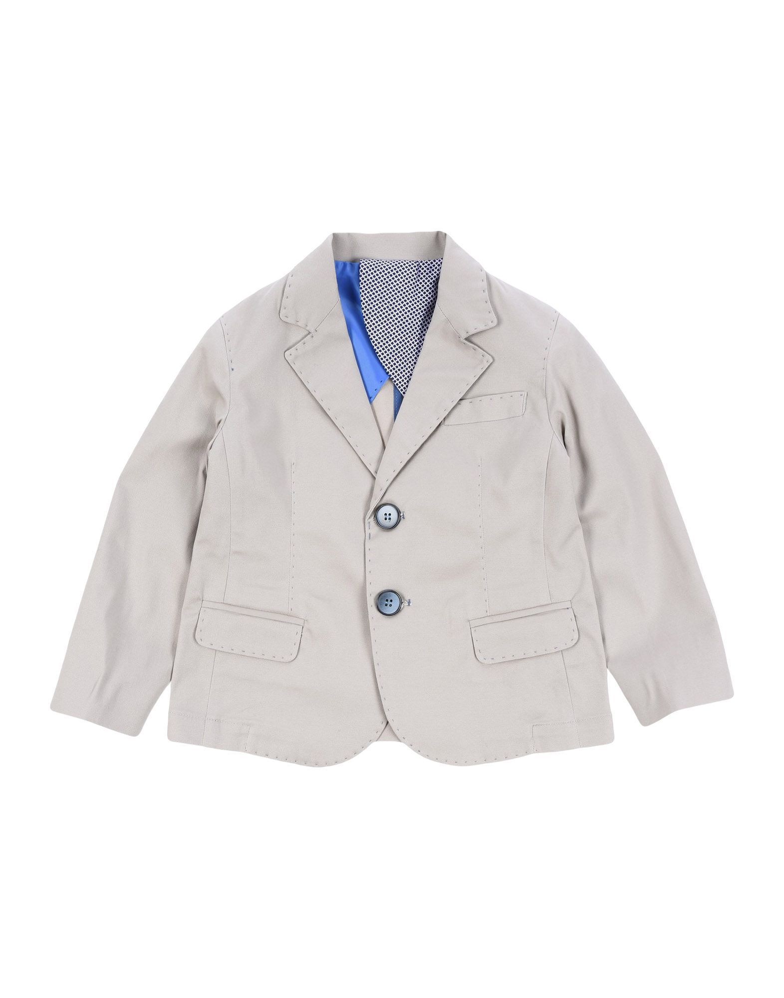 SUITS AND JACKETS Boy Manuell & Frank Beige Cotton