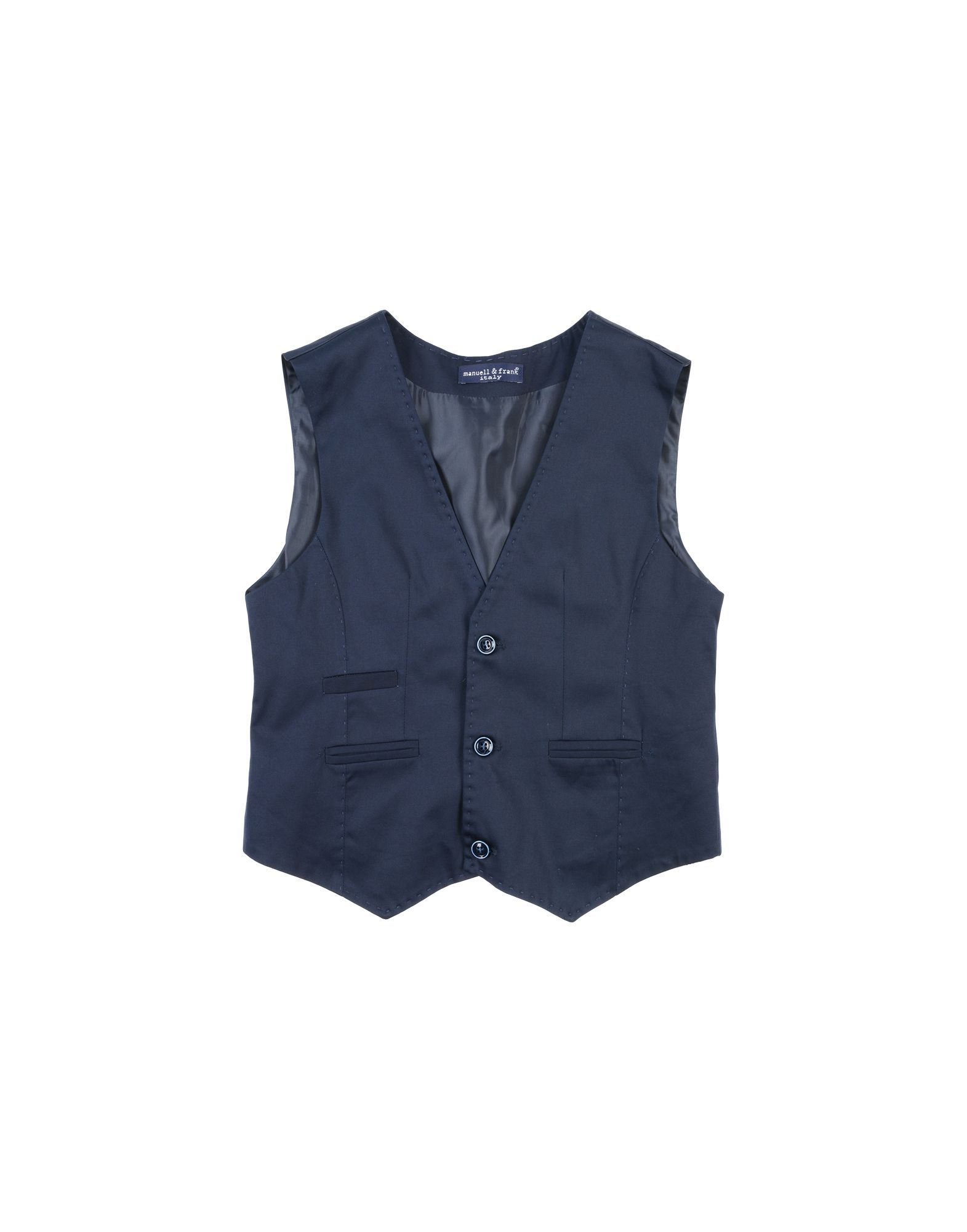 SUITS AND JACKETS Boy Manuell & Frank Dark blue Cotton