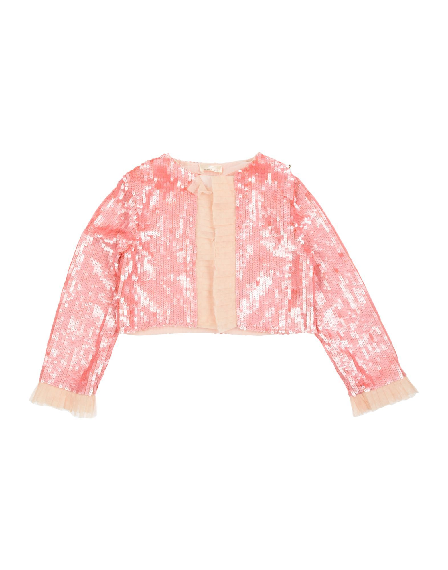 SUITS AND JACKETS Girl Elisabetta Franchi Pink Polyester