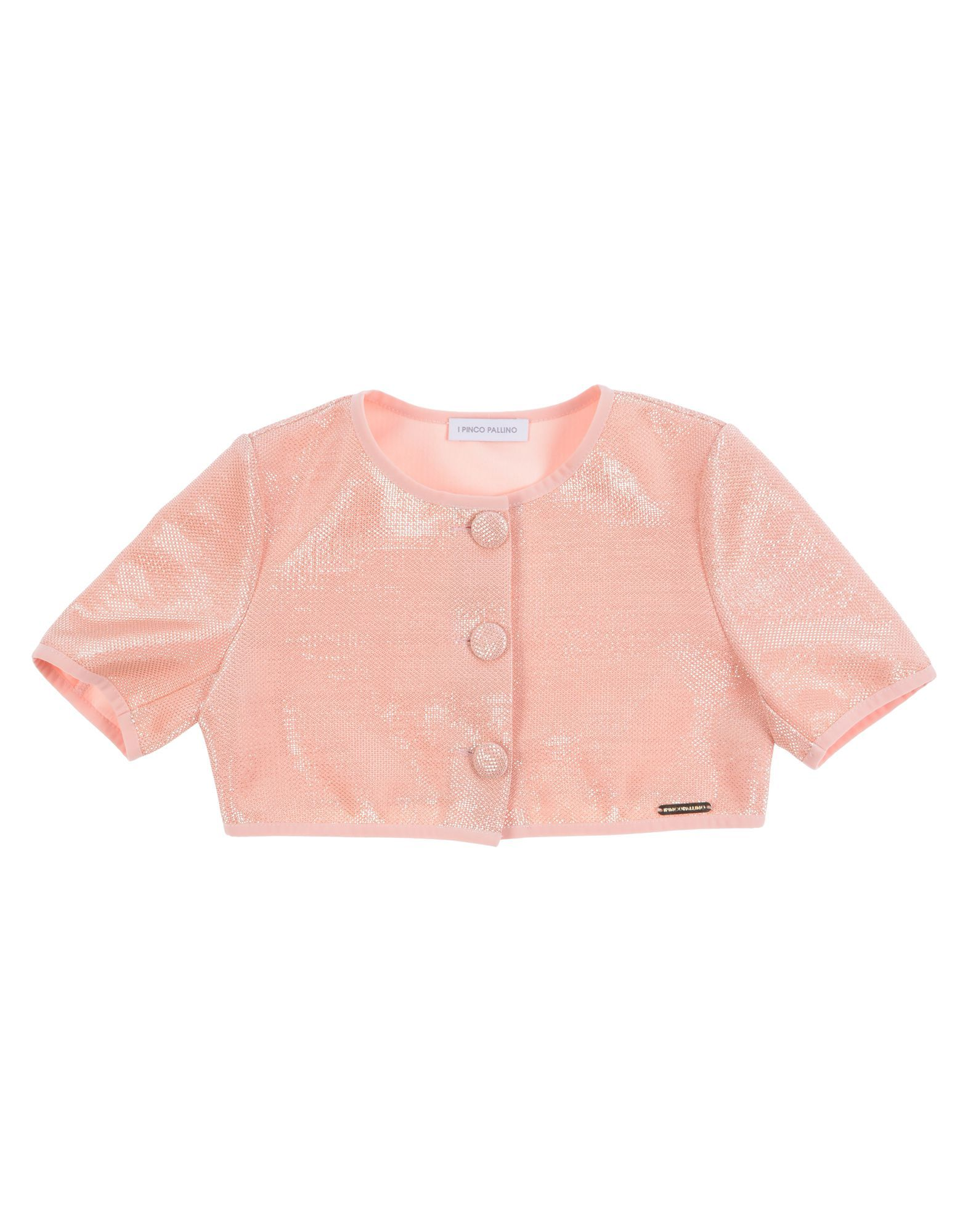 SUITS AND JACKETS I Pinco Pallino Pastel pink Girl Polyester