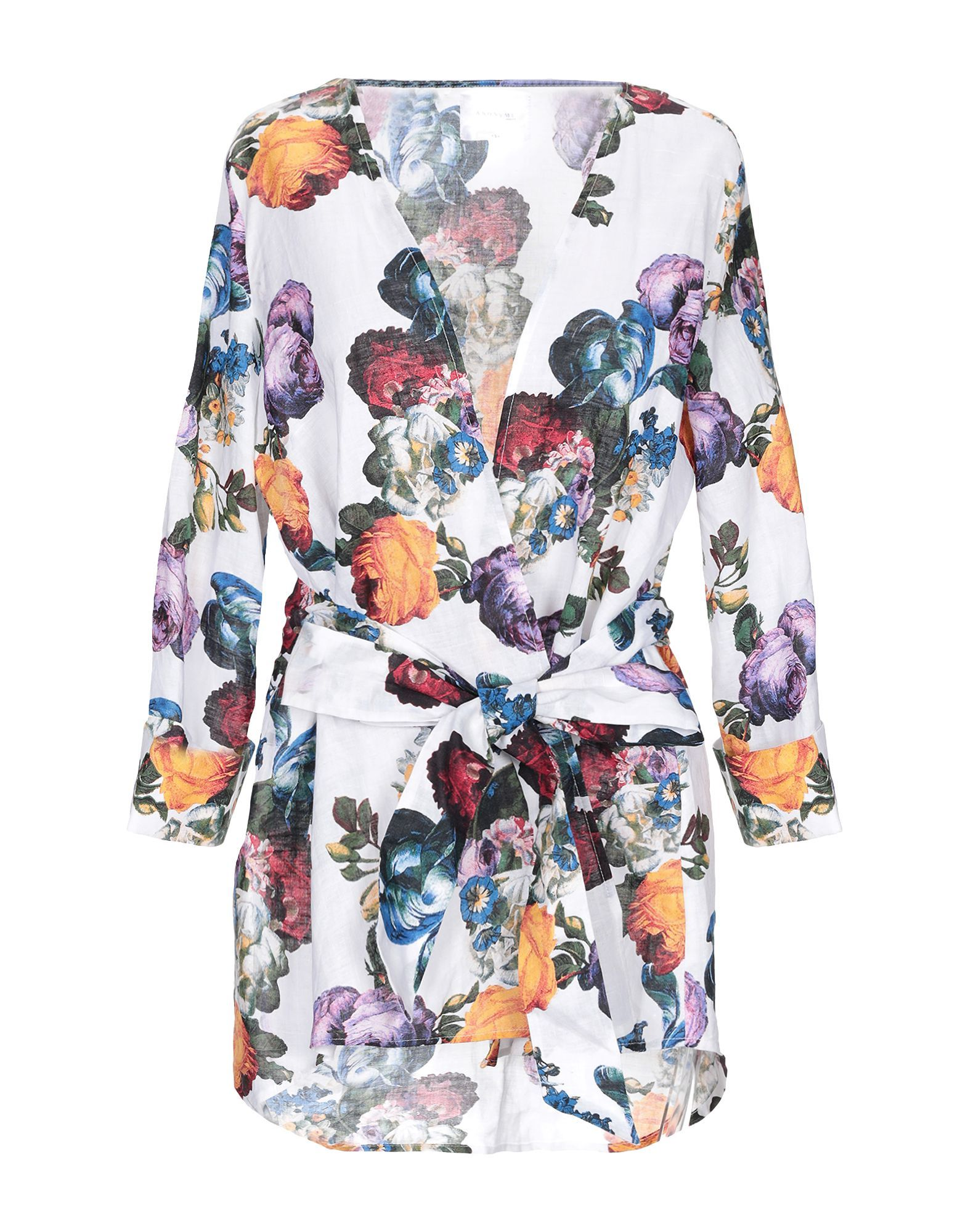 Anonyme Designers White Floral Design Jacket