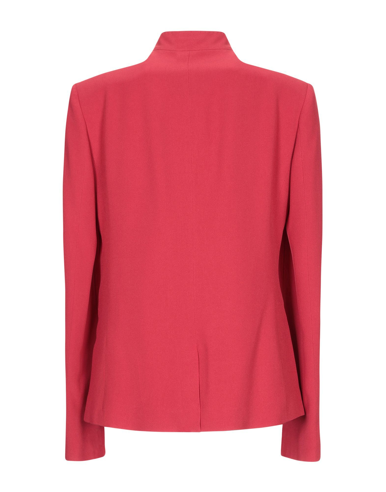 SUITS AND JACKETS Woman Trussardi Brick red Acetate