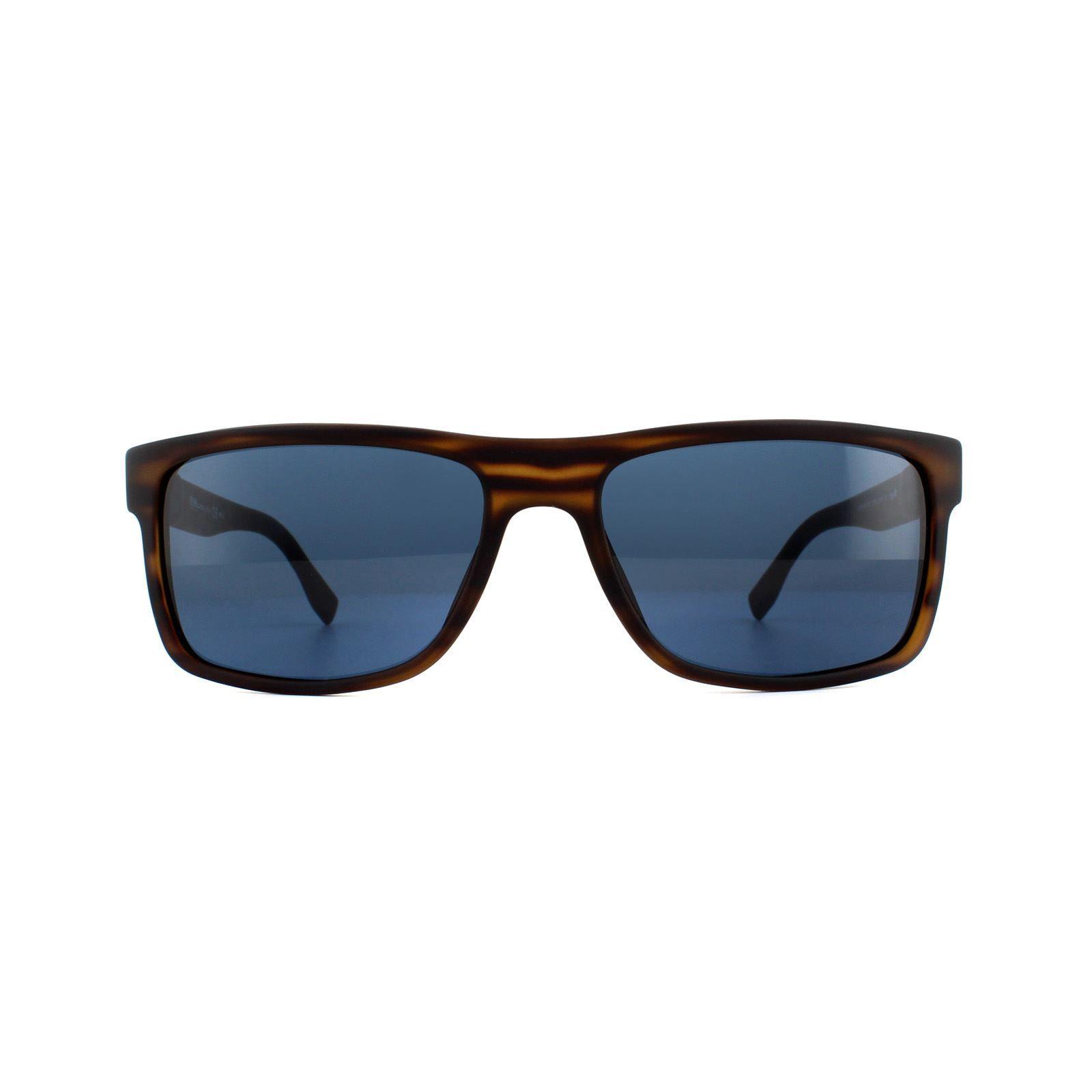 Hugo Boss Sunglasses 0919/S 2Q7 KU Brown Horn Blue