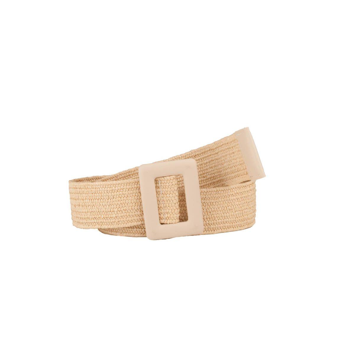 Maria Graor Casual Quality Belt in Beige