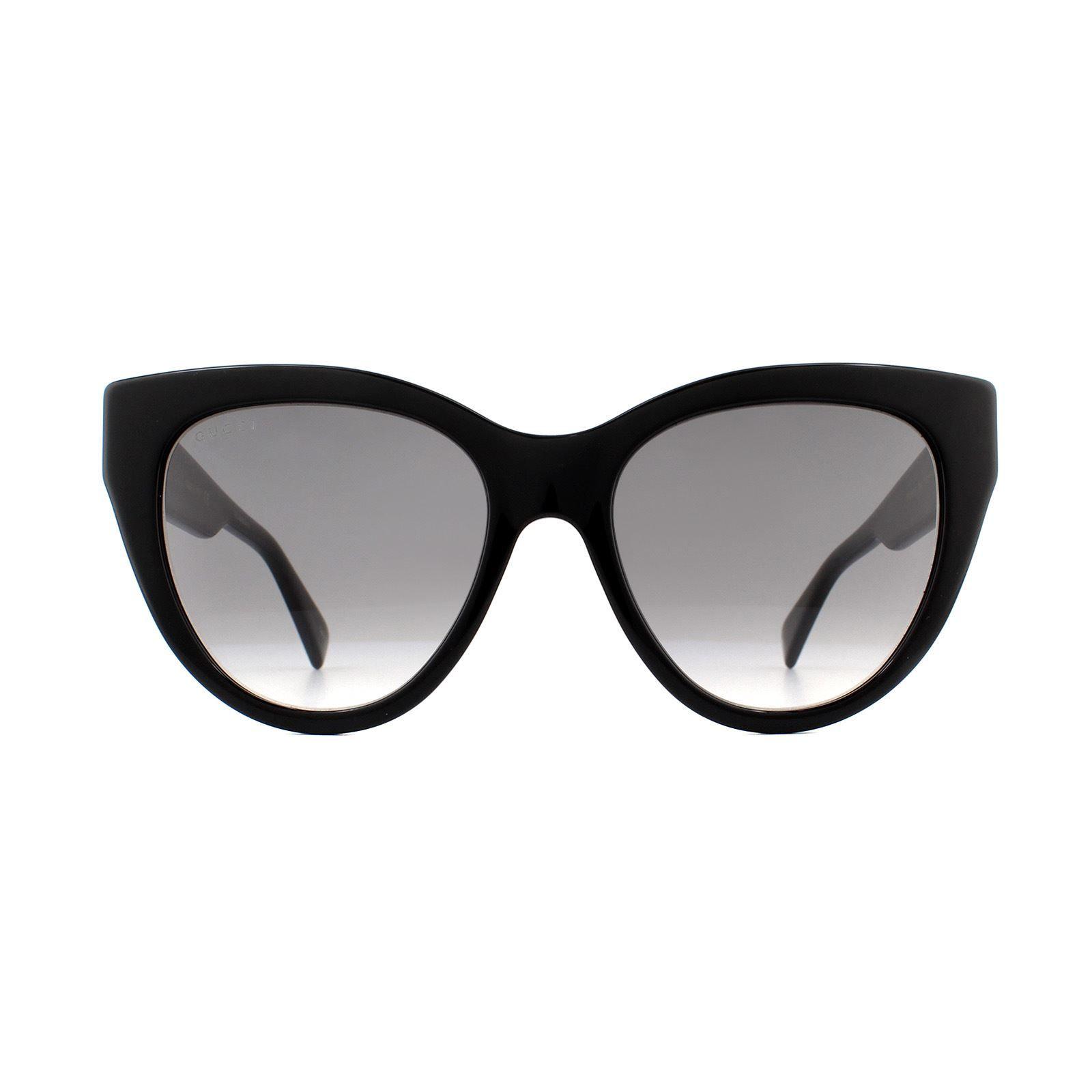 Gucci Sunglasses GG0460S 001 Black Grey Gradient