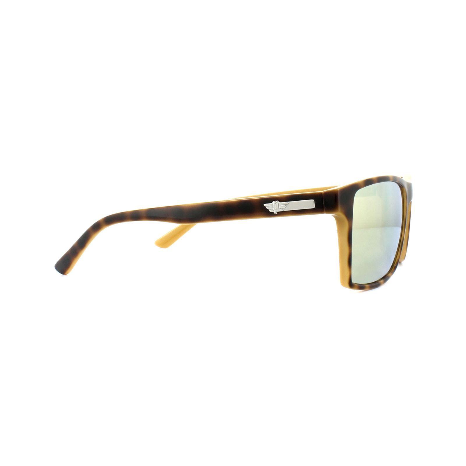 Police Sunglasses S1870M L50G Shiny Havana Ochre Grey