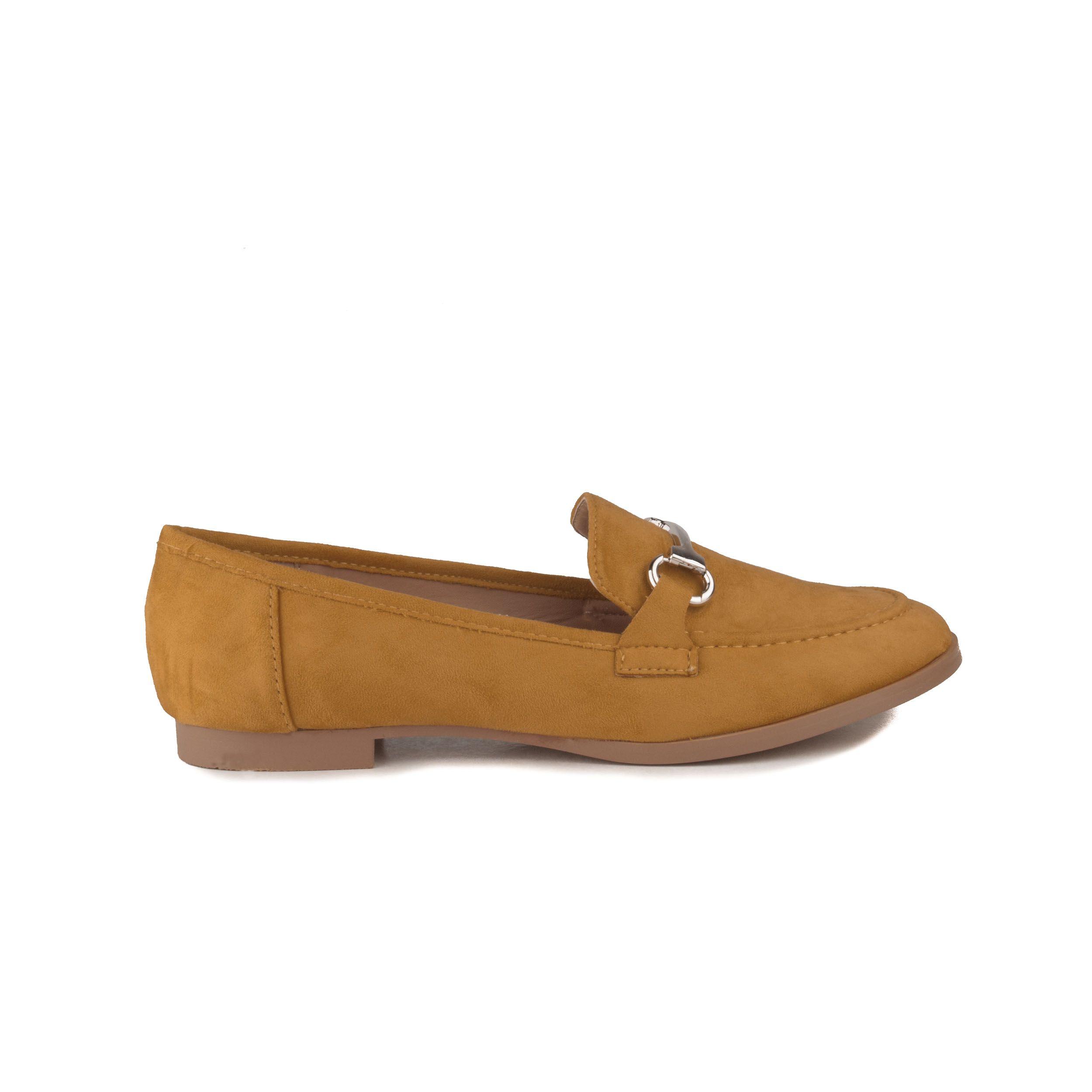 Montevita Comfortable Loafer in Mustard