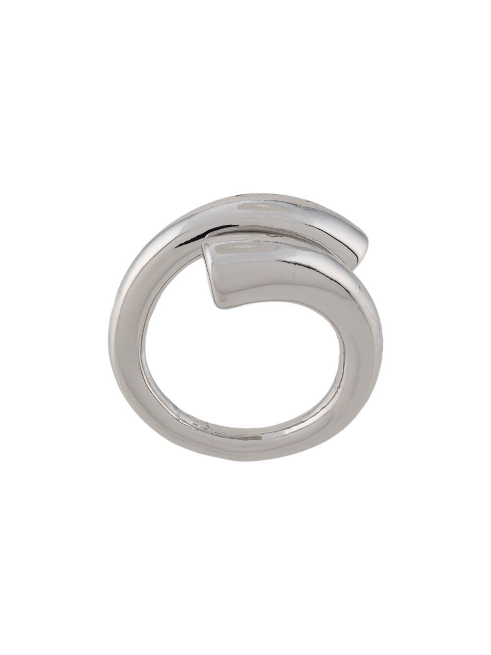FEDERICA TOSI WOMEN'S FT0112RINGTUBESILVER SILVER METAL RING