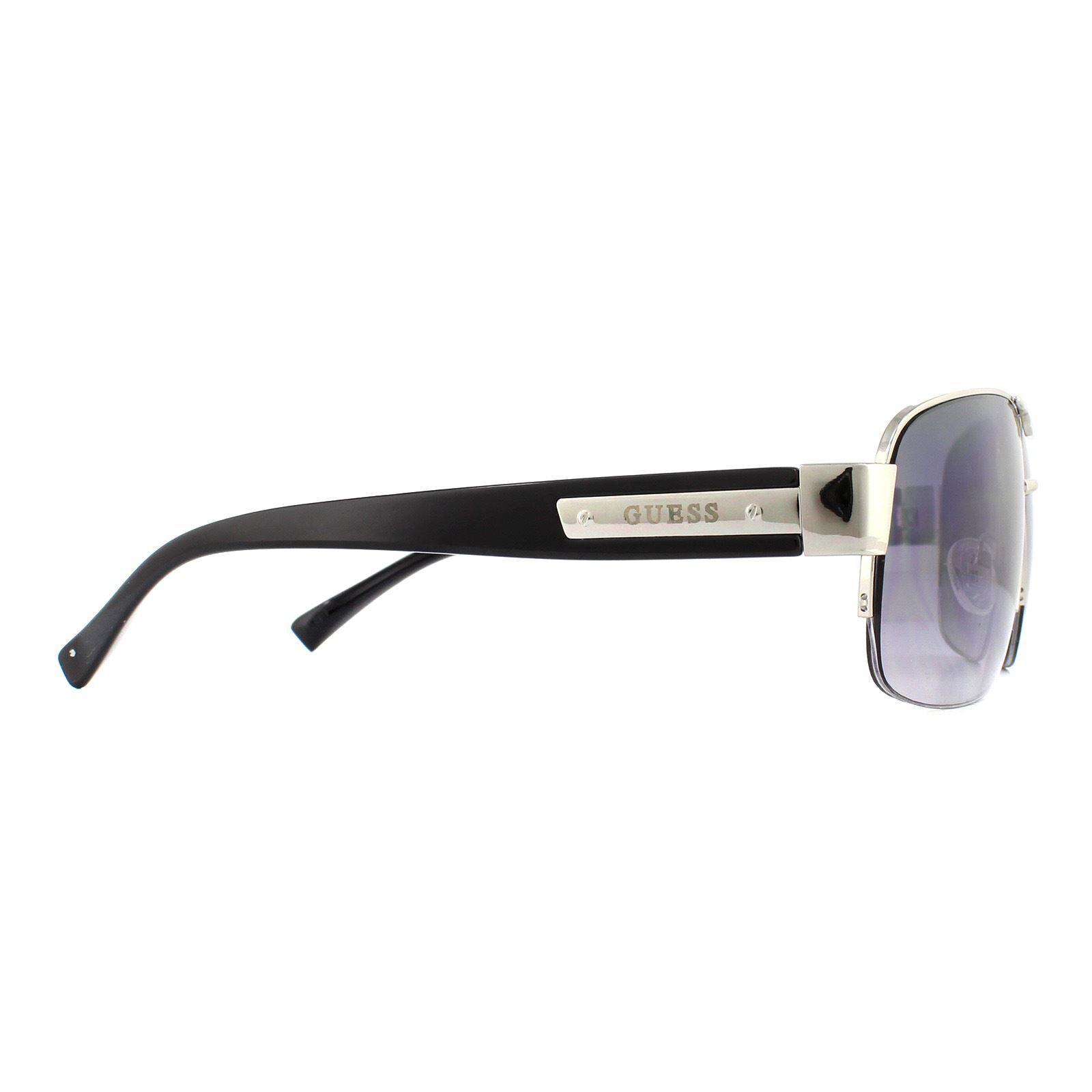 Guess Sunglasses GU6831 08C Gun Matte Black Grey Gradient