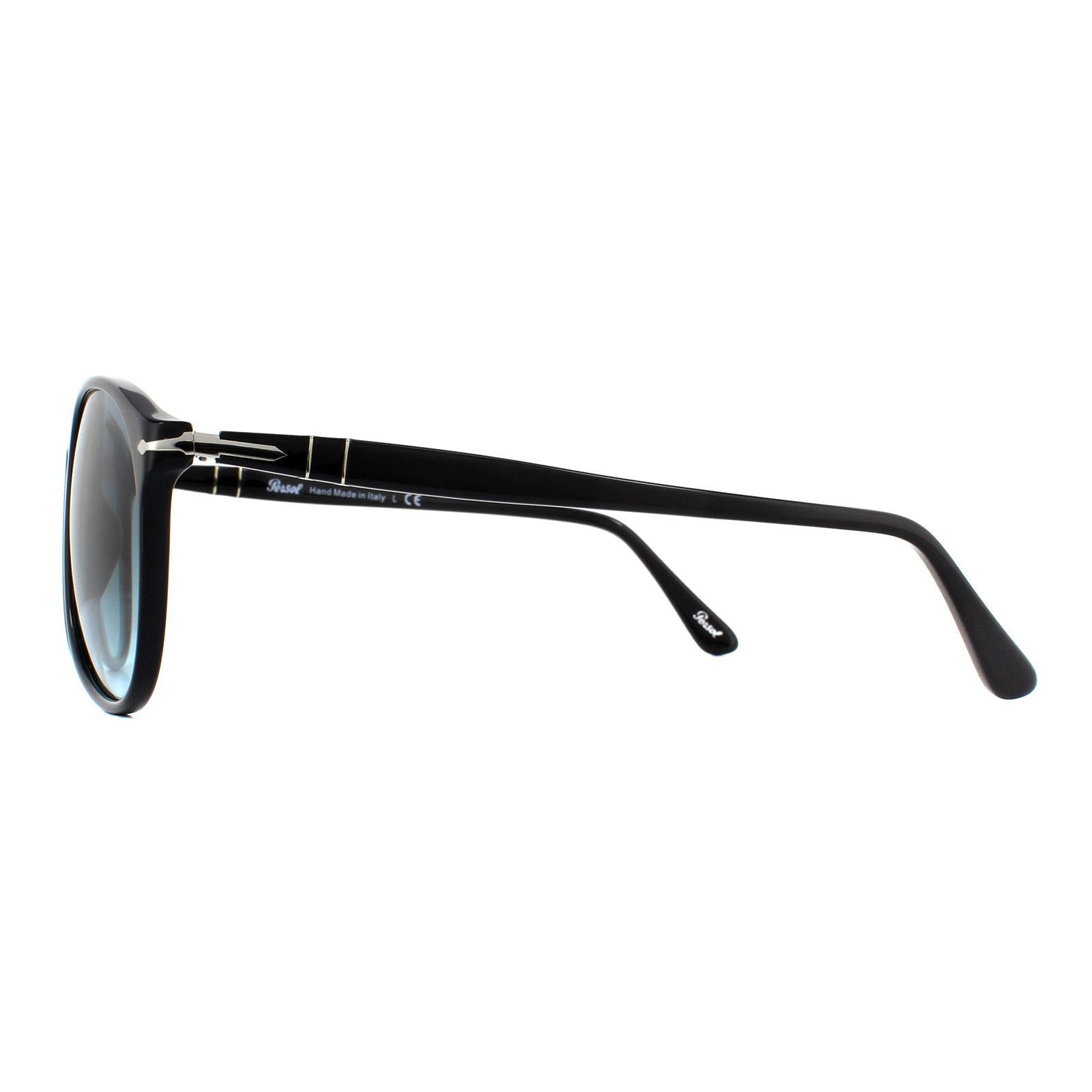 Persol Sunglasses 9649 95/Q8 Black Blue Gradient