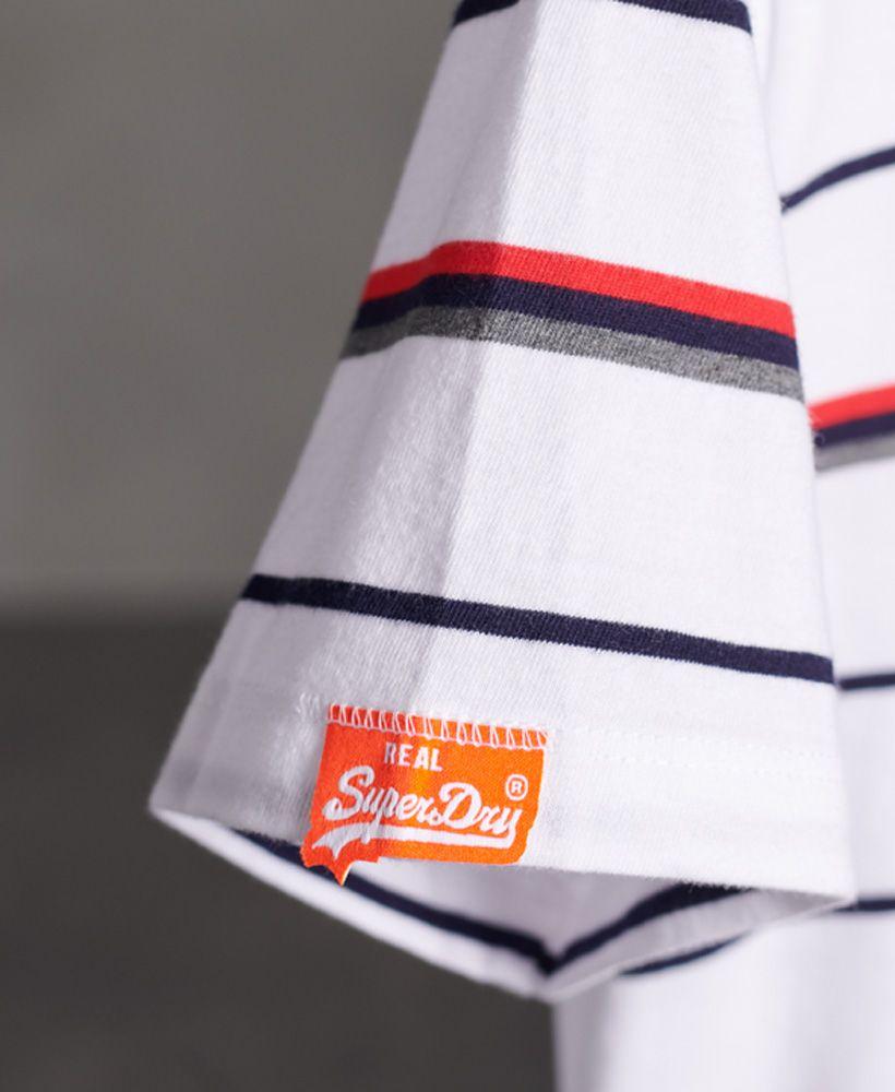 Superdry Organic Cotton Breton Stripe T-Shirt