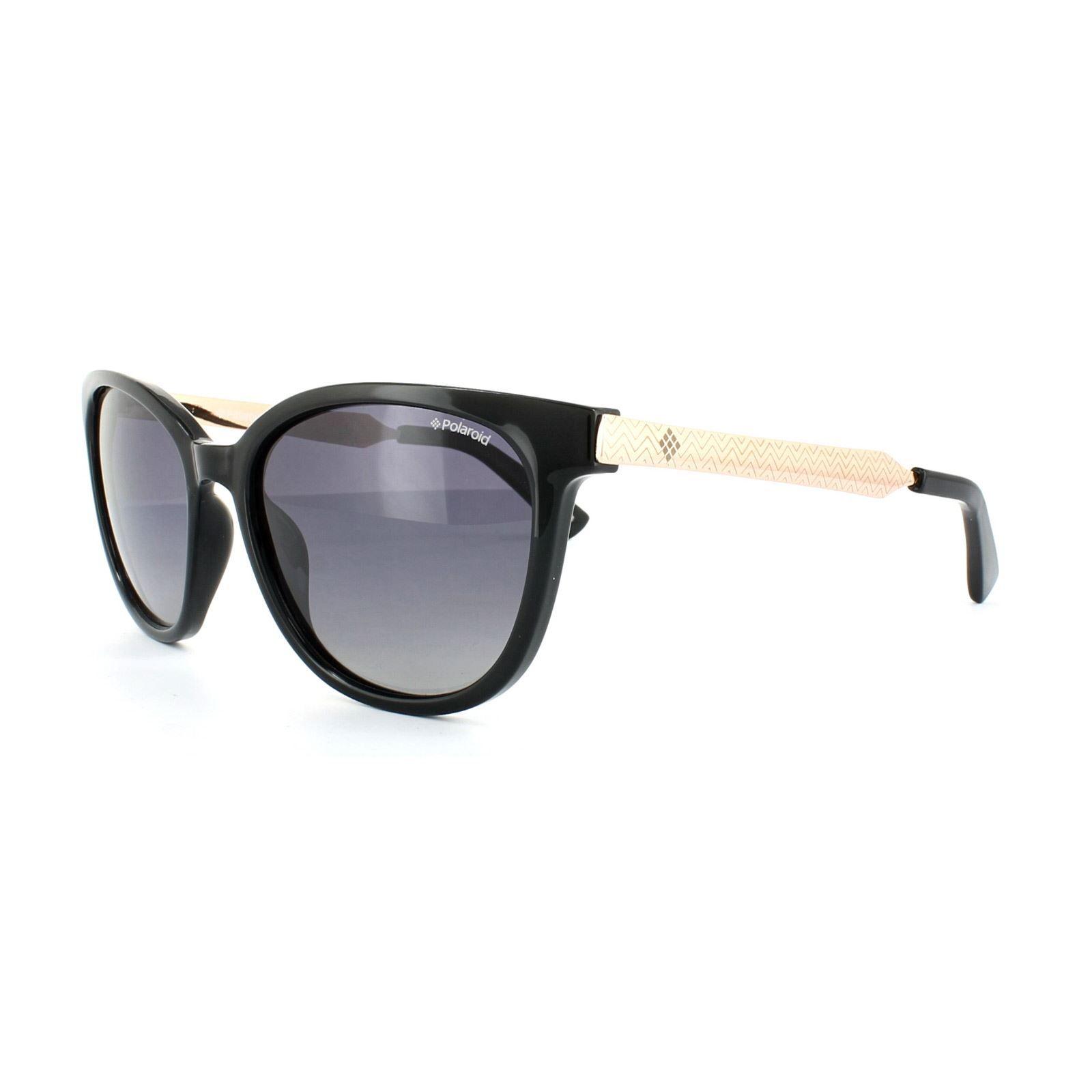 Polaroid Sunglasses 5015/S BMB IX Black Rose Gold Grey Gradient Polarized