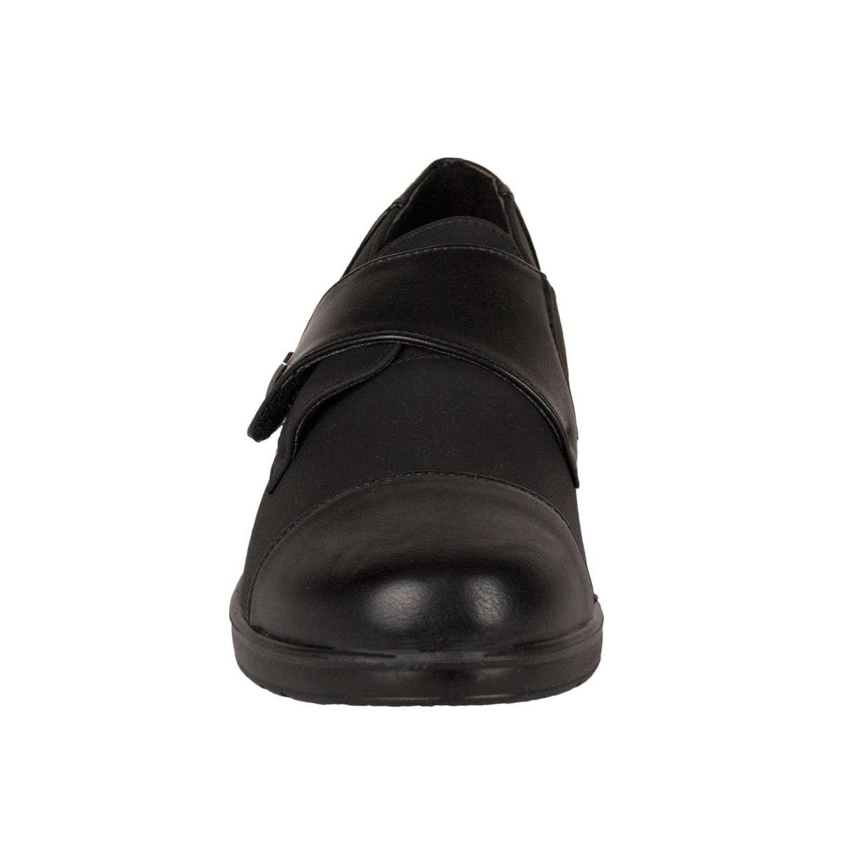 Montevita Comfortable Moccasin in Black
