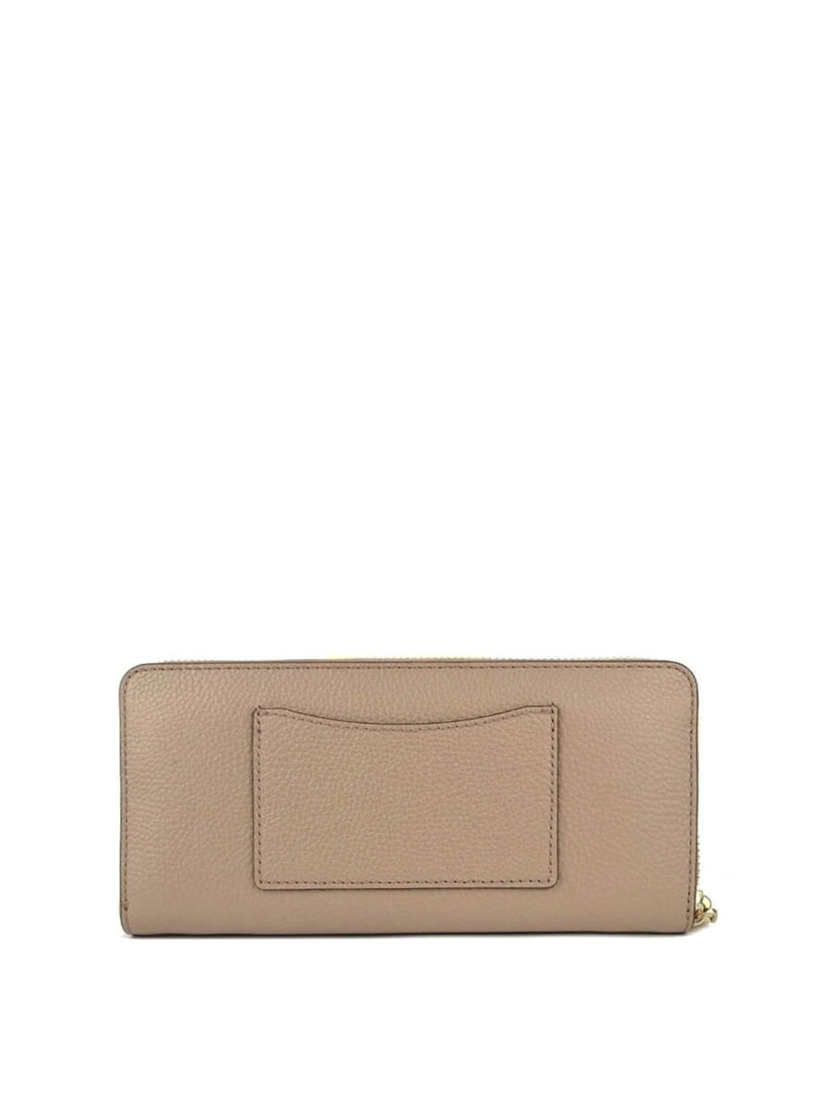 MICHAEL KORS WOMEN'S 32T8TF6Z3L208 BEIGE LEATHER WALLET