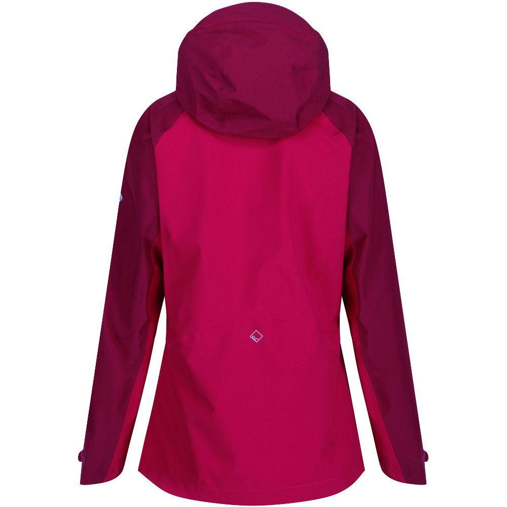 Regatta Womens/Ladies Birchdale Waterproof Durable Hooded Jacket Coat
