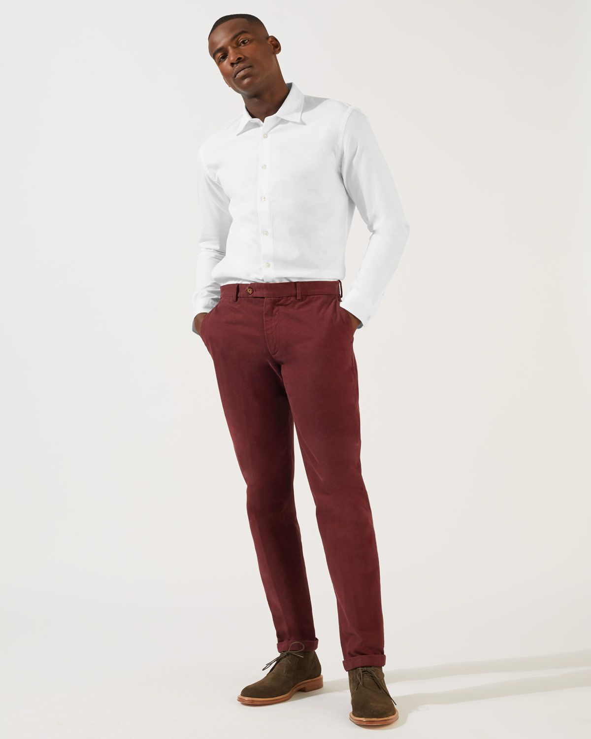 Piper Garment Dye Chino Trouser