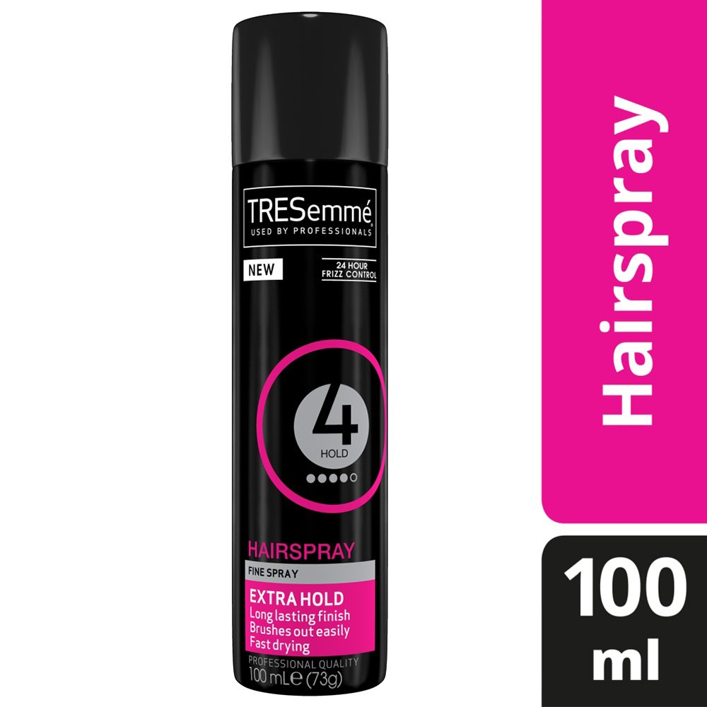 TRESemme 24 Hour Frizz Control Hair Spray, Extra Hold, Pack of 5, 100ml