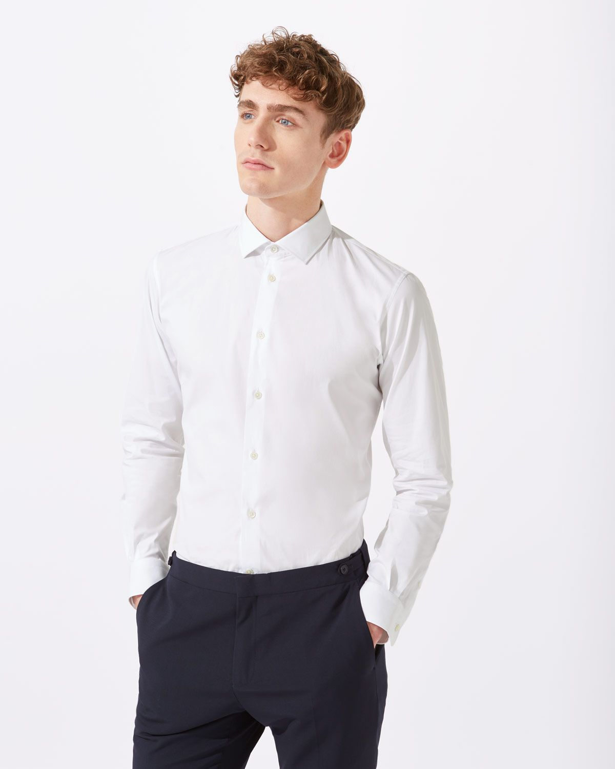Italian Poplin Slim Fit Shirt