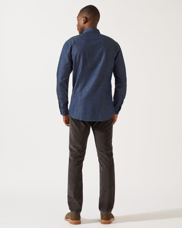 Edward Indigo Shirt