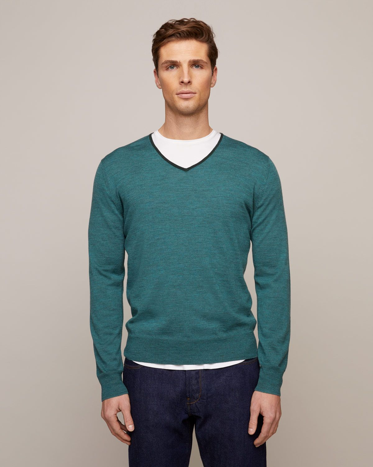 Hogarth Merino V-Neck Jumper